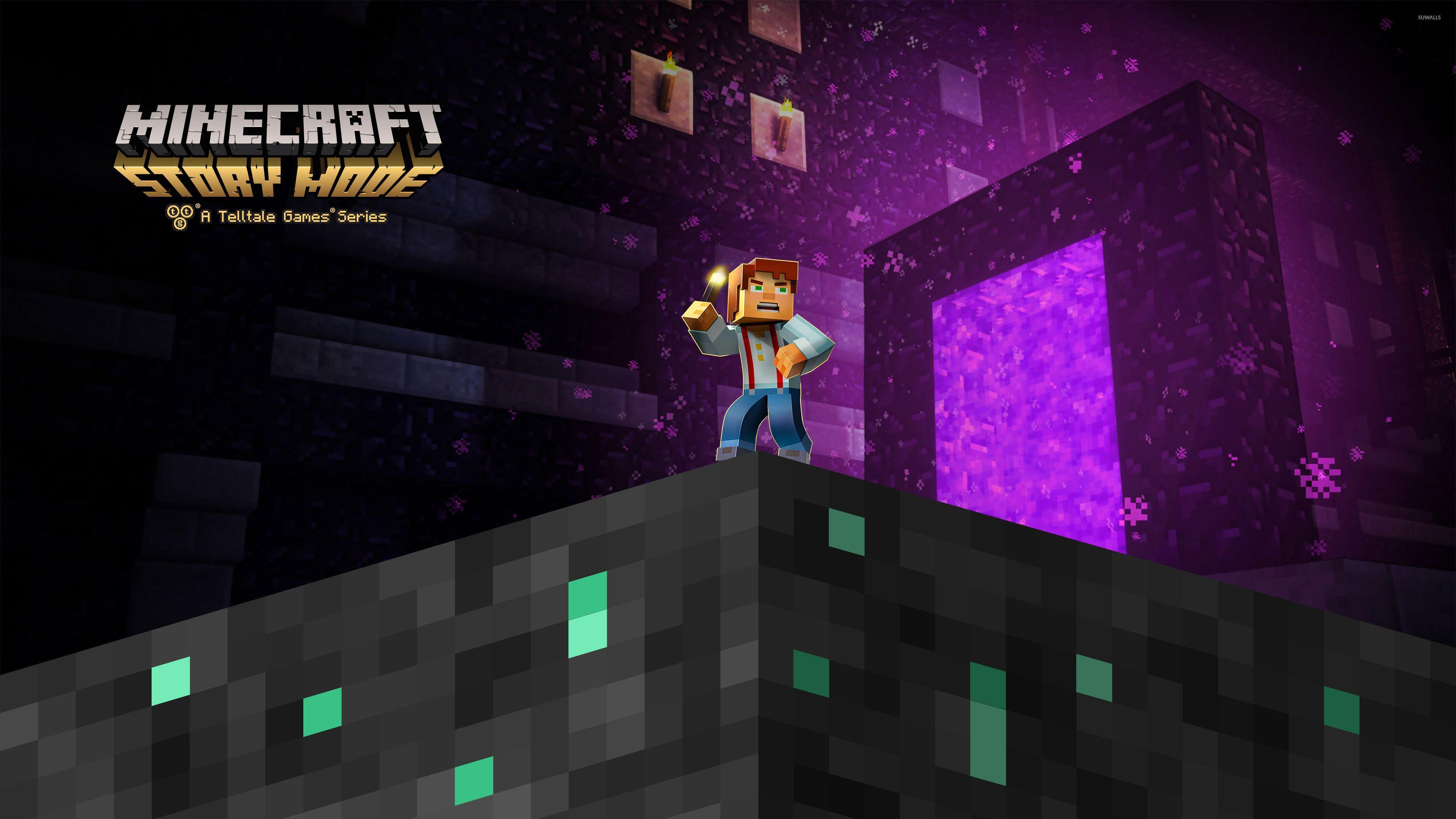 Minecraft story mode wallpapers wallpaper cave - Minecraft story mode wallpaper ...