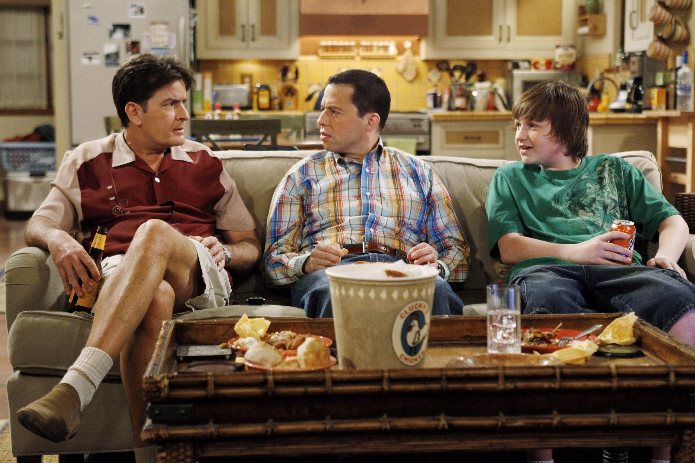 Two And A Half Men Wallpapers Wallpaper Cave