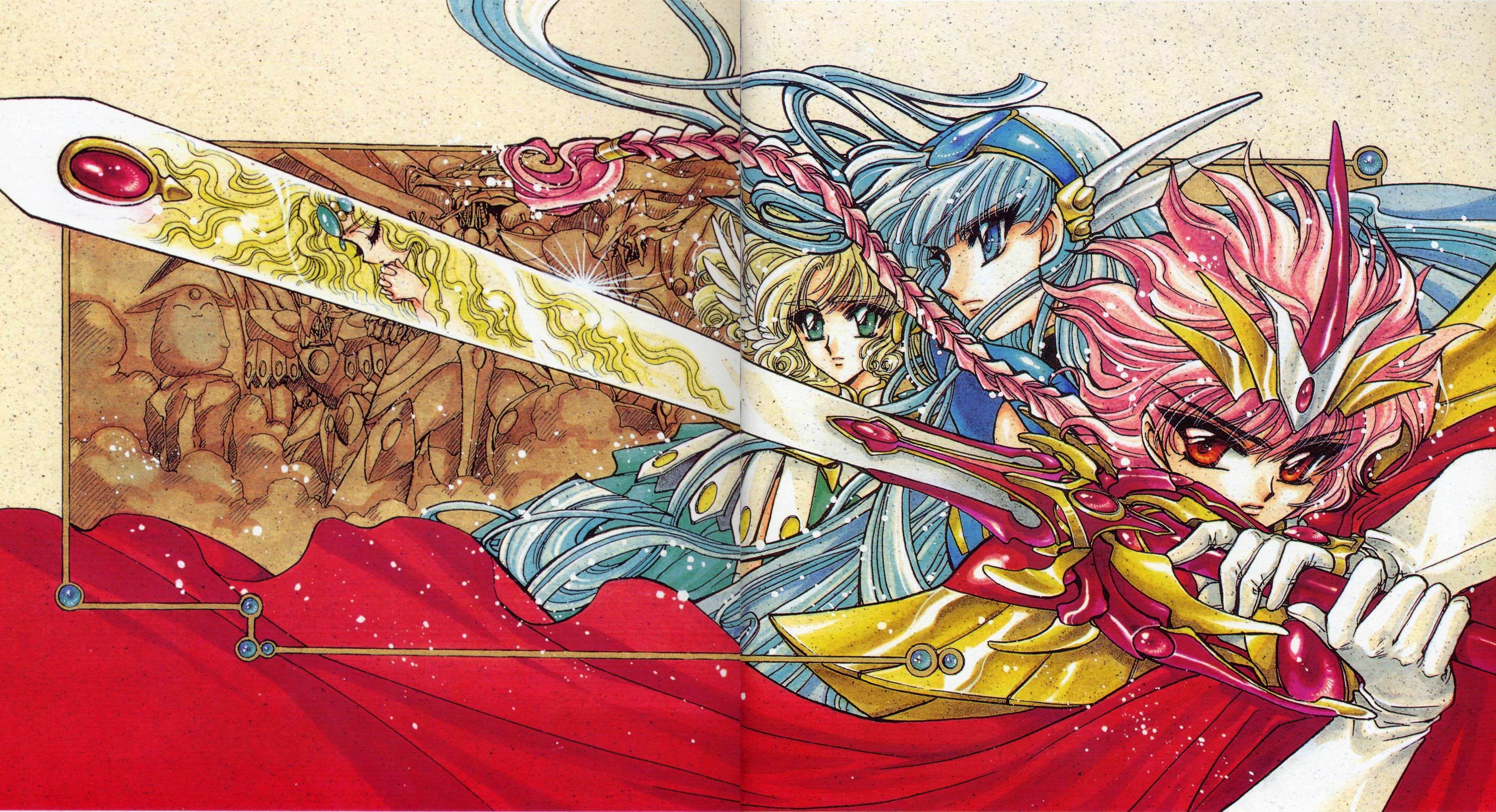 Magic Knight Rayearth Series OVA wallpapers