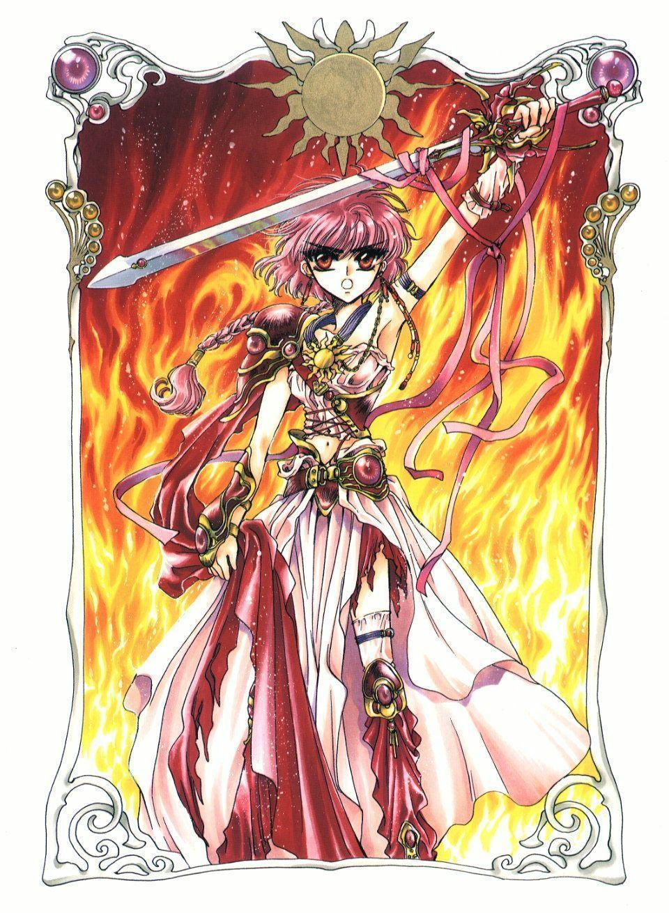 4800x2958px Magic Knight Rayearth