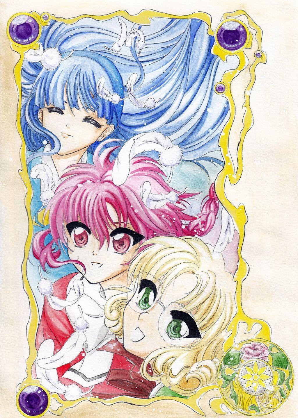 Magic Knight Rayearth Chibis by 3