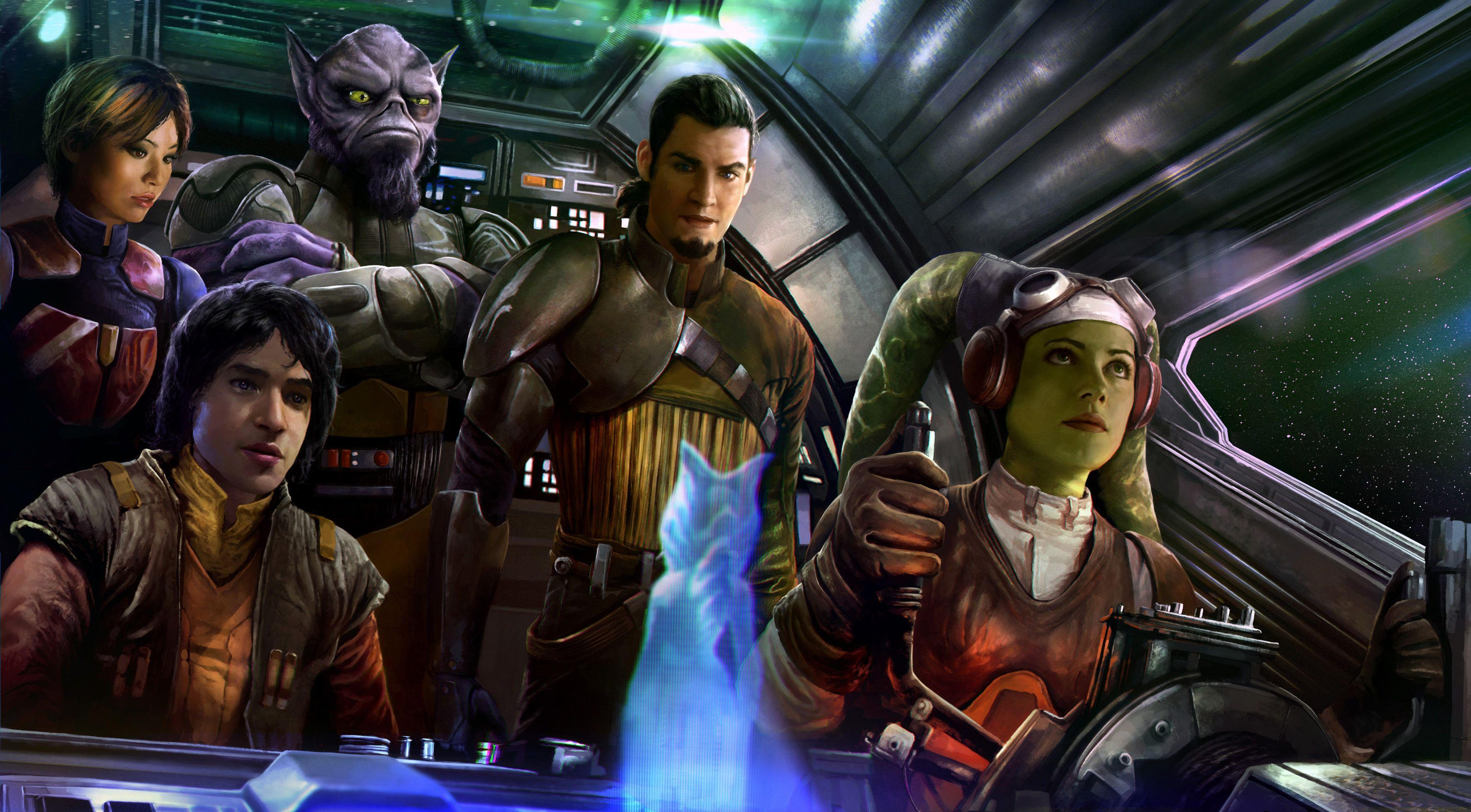 Star Wars Rebels Wallpapers Wallpaper Cave
