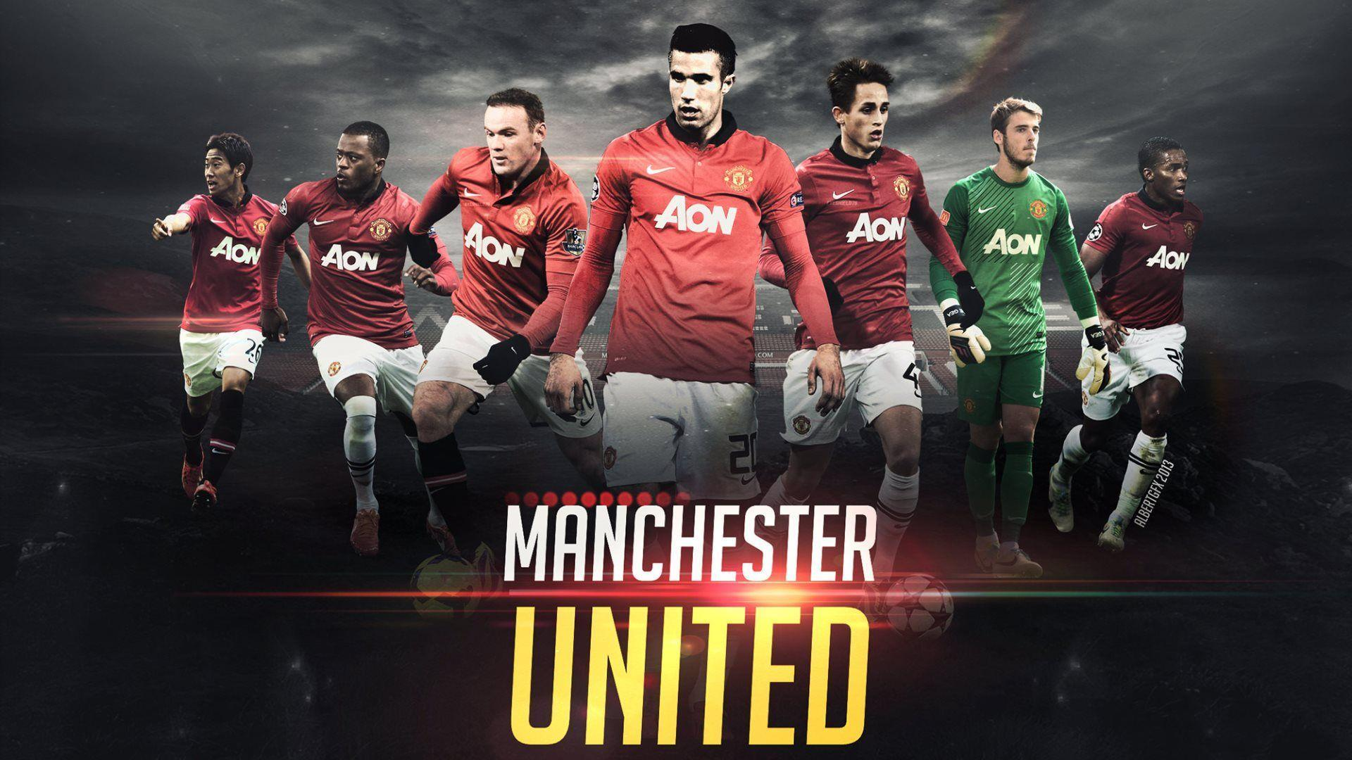 manchester united players wallpapers wallpaper cave manchester united players wallpapers