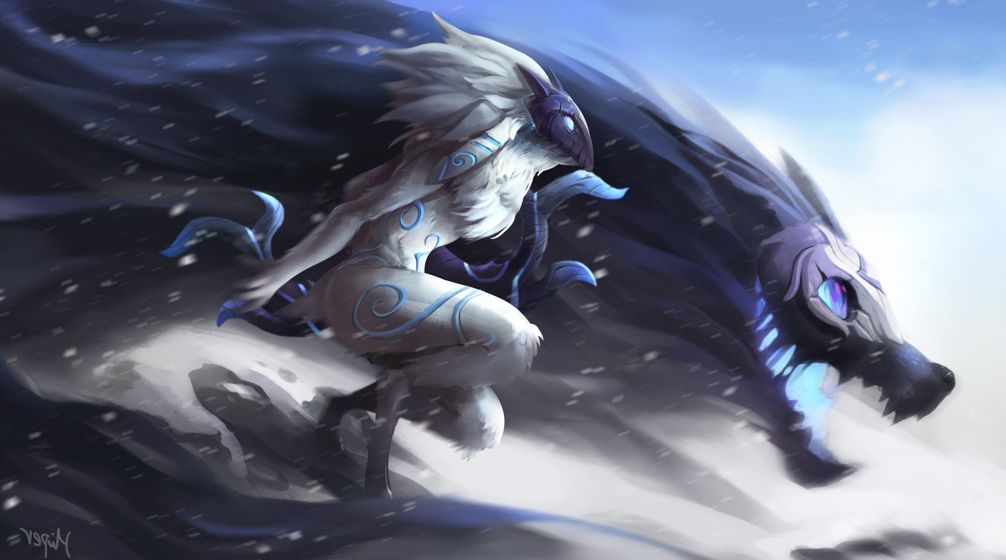 Kindred Minimalist Wallpaper League Of Legends By: Kindred Wallpapers