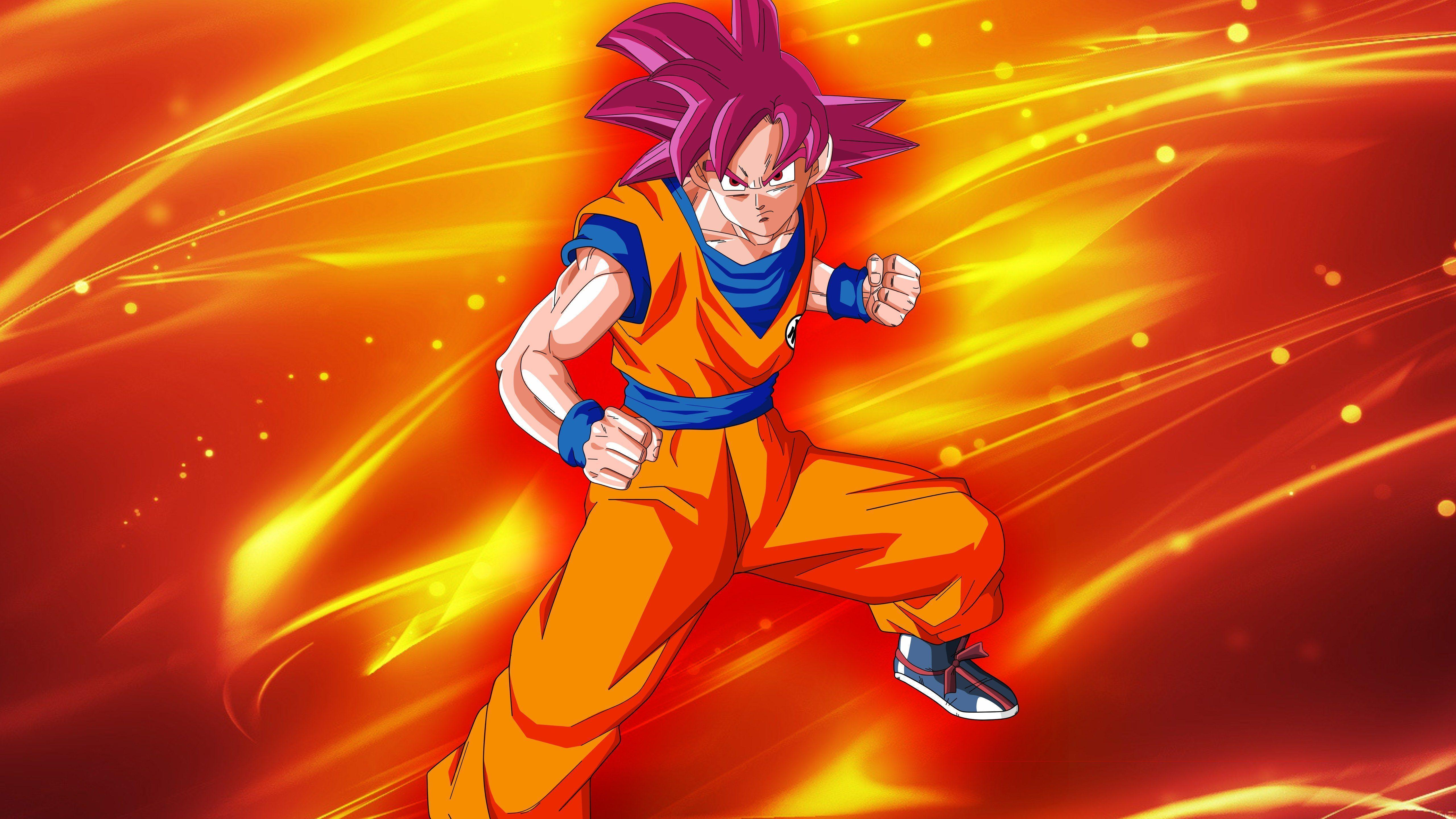 Super Saiyan God Super Saiyan Goku Wallpapers - Wallpaper Cave Dragon Ball Z Goku Super Saiyan 6 Wallpapers