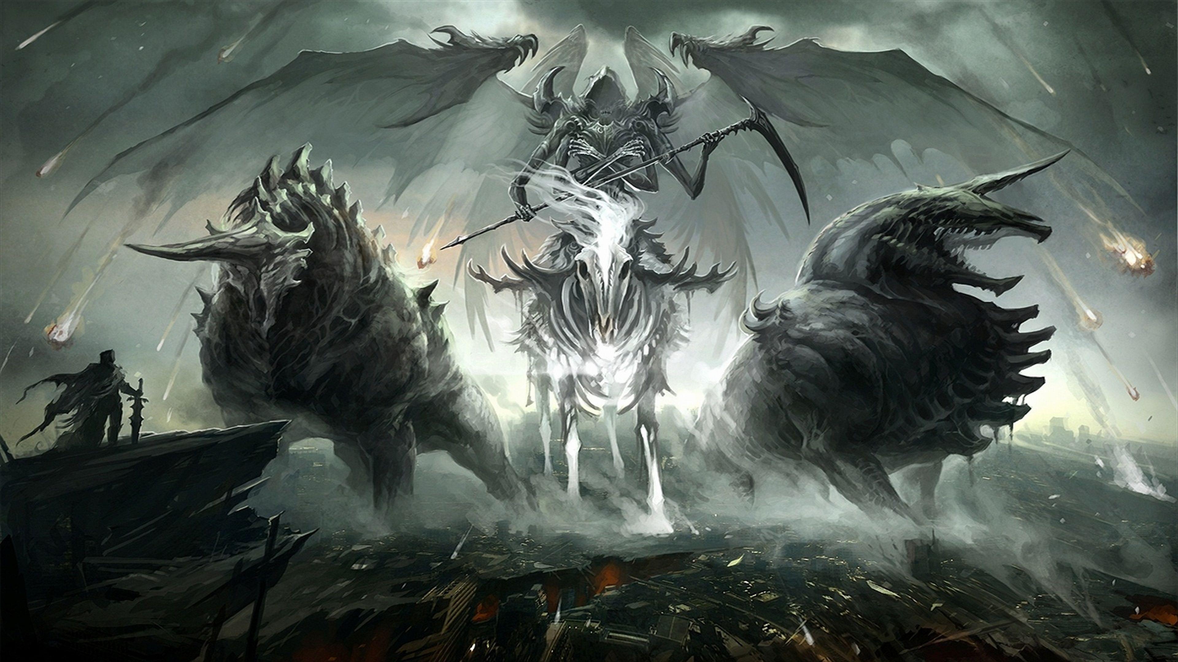 Female Grim Reaper Wallpapers Wallpaper Cave