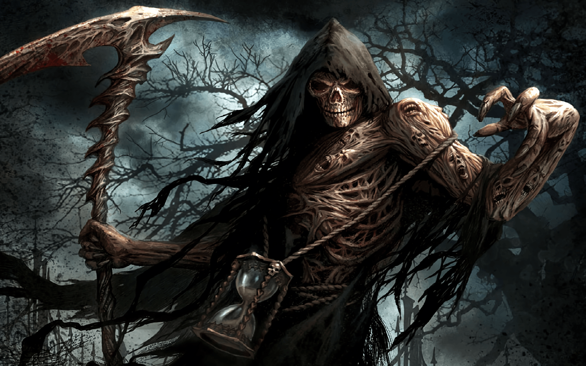 Female Grim Reaper Wallpapers Wallpaper Cave