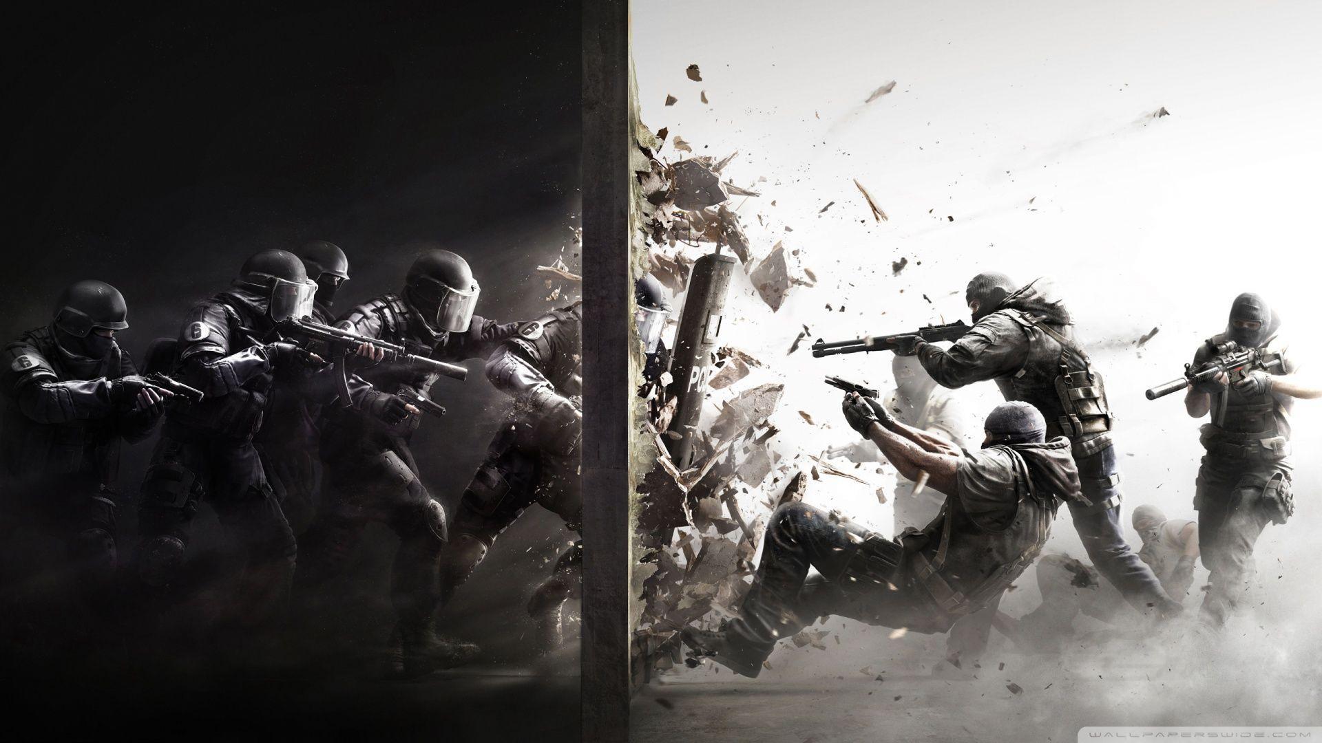 Tom Clancys Rainbow Six Siege Hd Wallpapers Wallpaper Cave