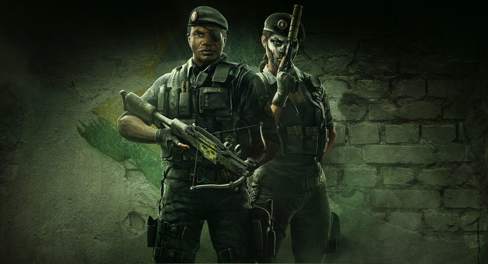 Tom Clancy S Rainbow Six Siege Hd Wallpapers Wallpaper Cave