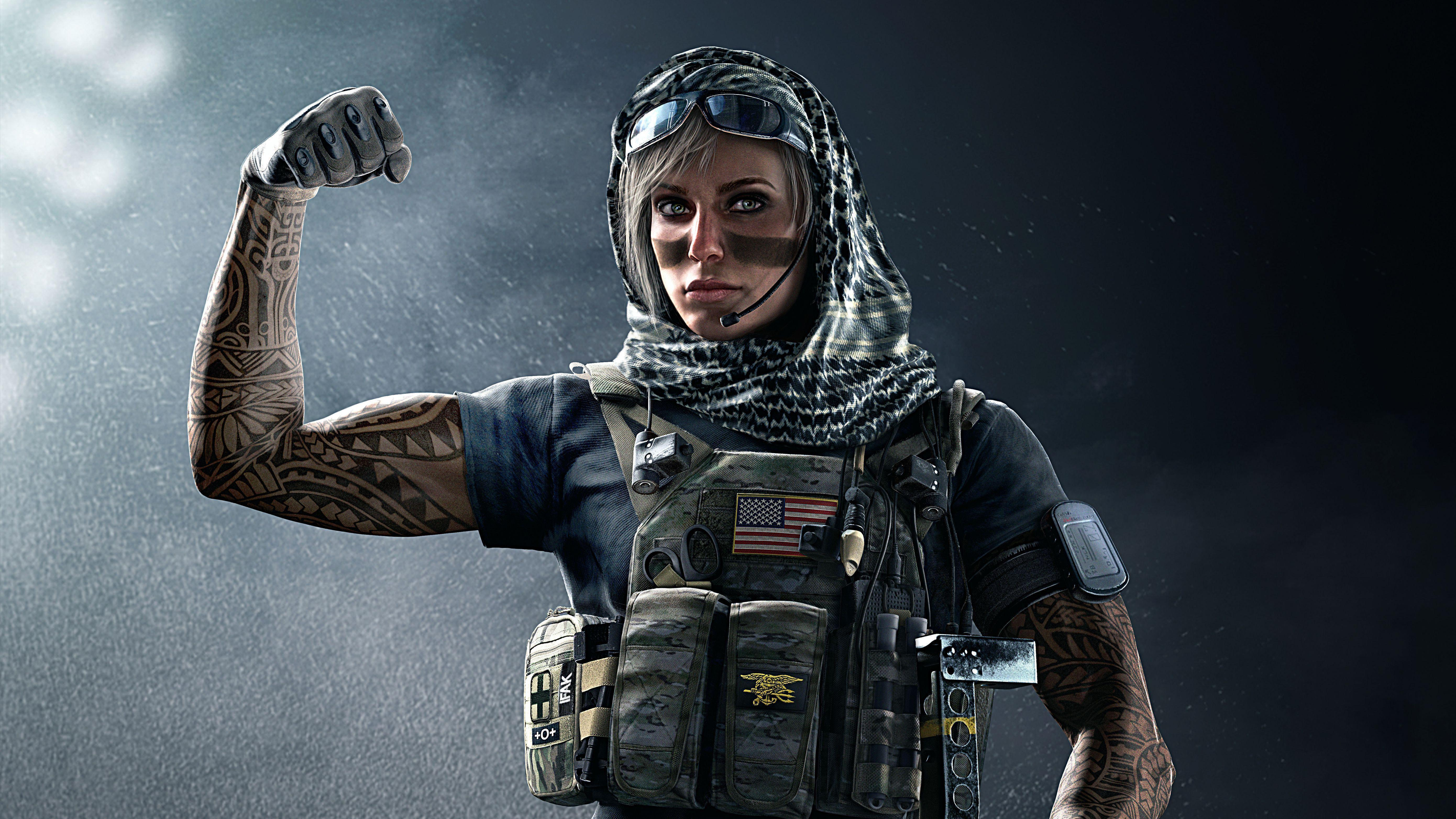 Tom Clancy S Rainbow Six Siege Wallpapers Wallpaper Cave