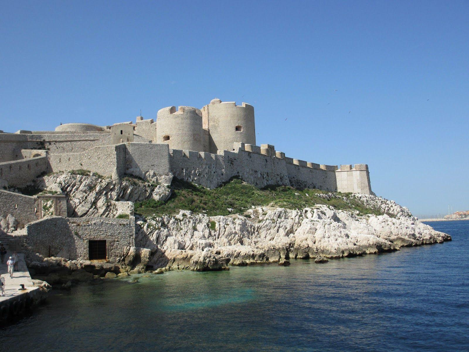 Fortress in Marseille, France wallpapers and image