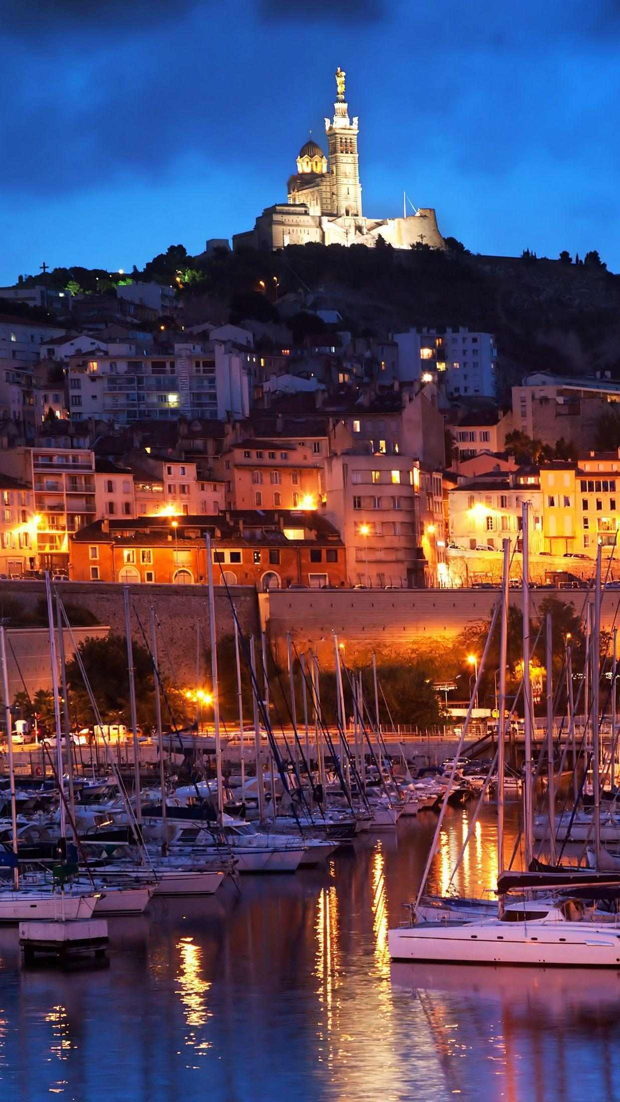 Wallpapers HD iPhone Marseille Port