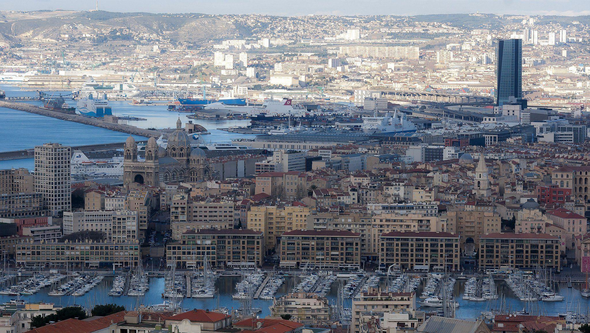 Marseille france provence 13 cities monuments panorama panoramic