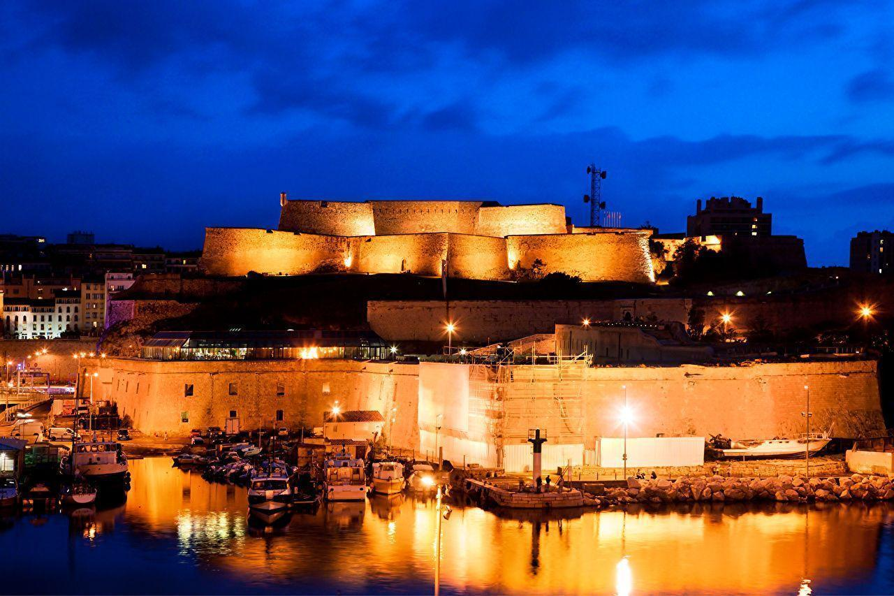 Image Marseille France Fortification Fort Saint