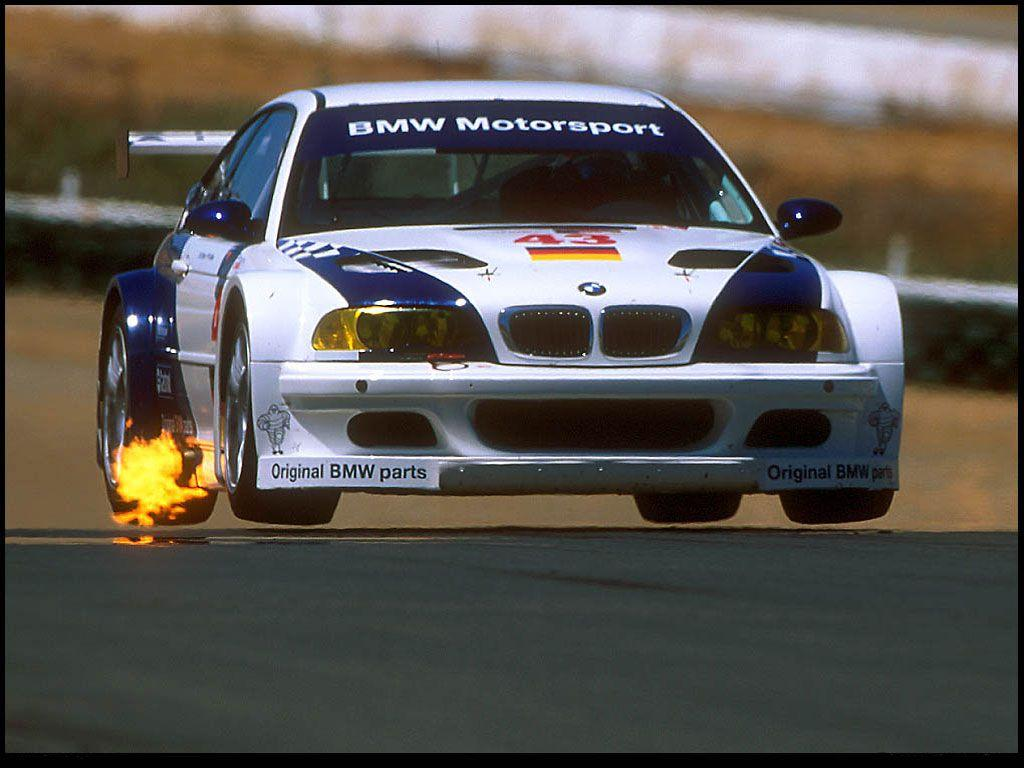 BMW E46 M3 GTR, coz you could grill some mean steaks and hotdogs