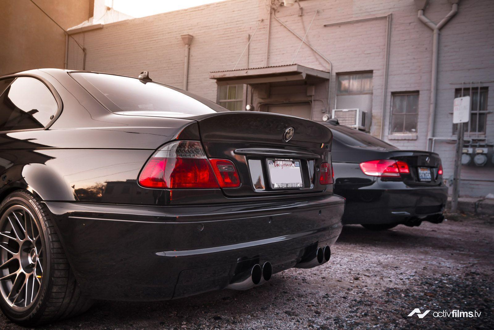 Wallpapers: BMW E92 M3 And BMW E46 M3 By ActivFilms.TV