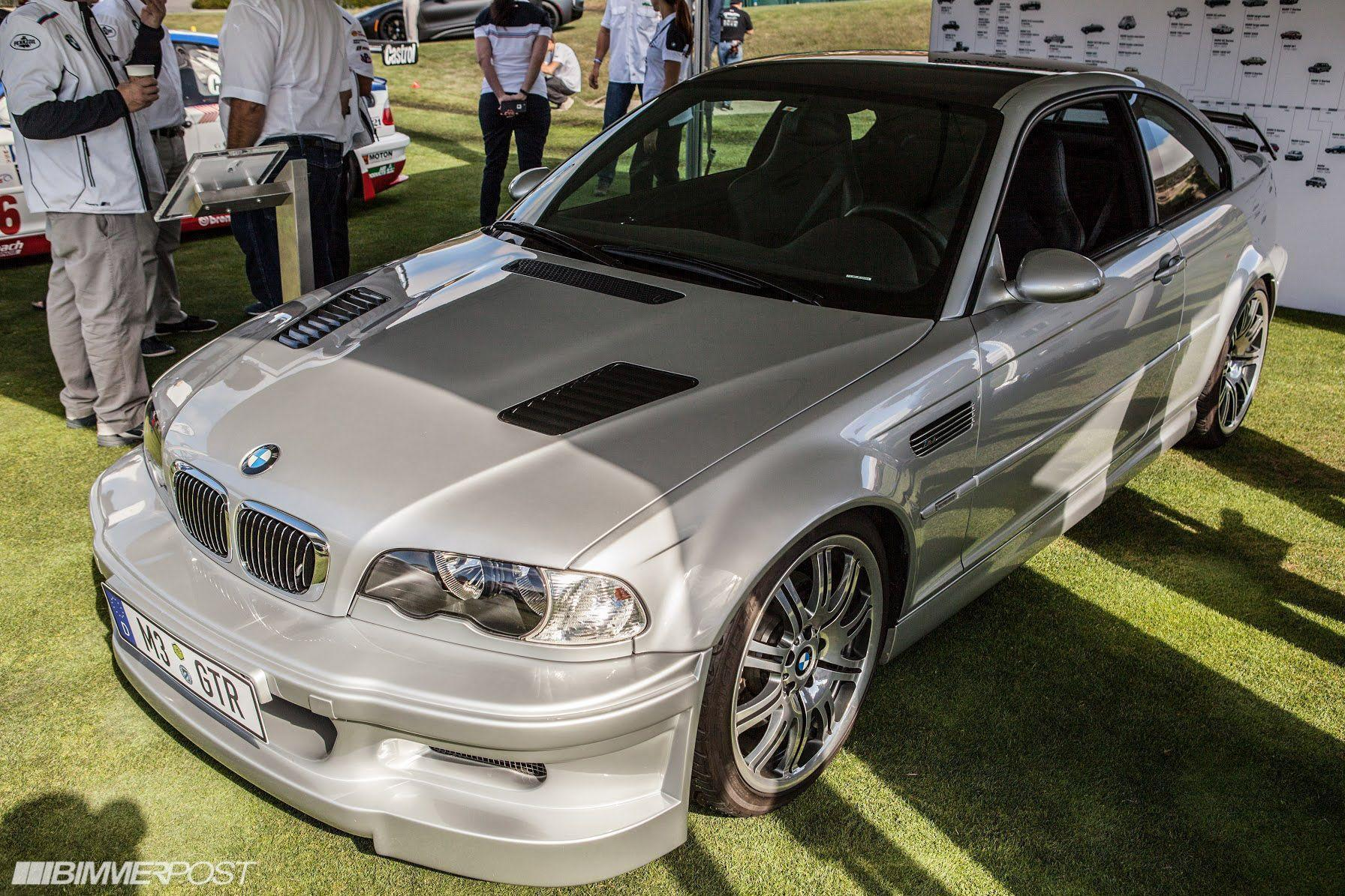 E46 M3 GTR Race and Road Car Presented at Pebble Beach