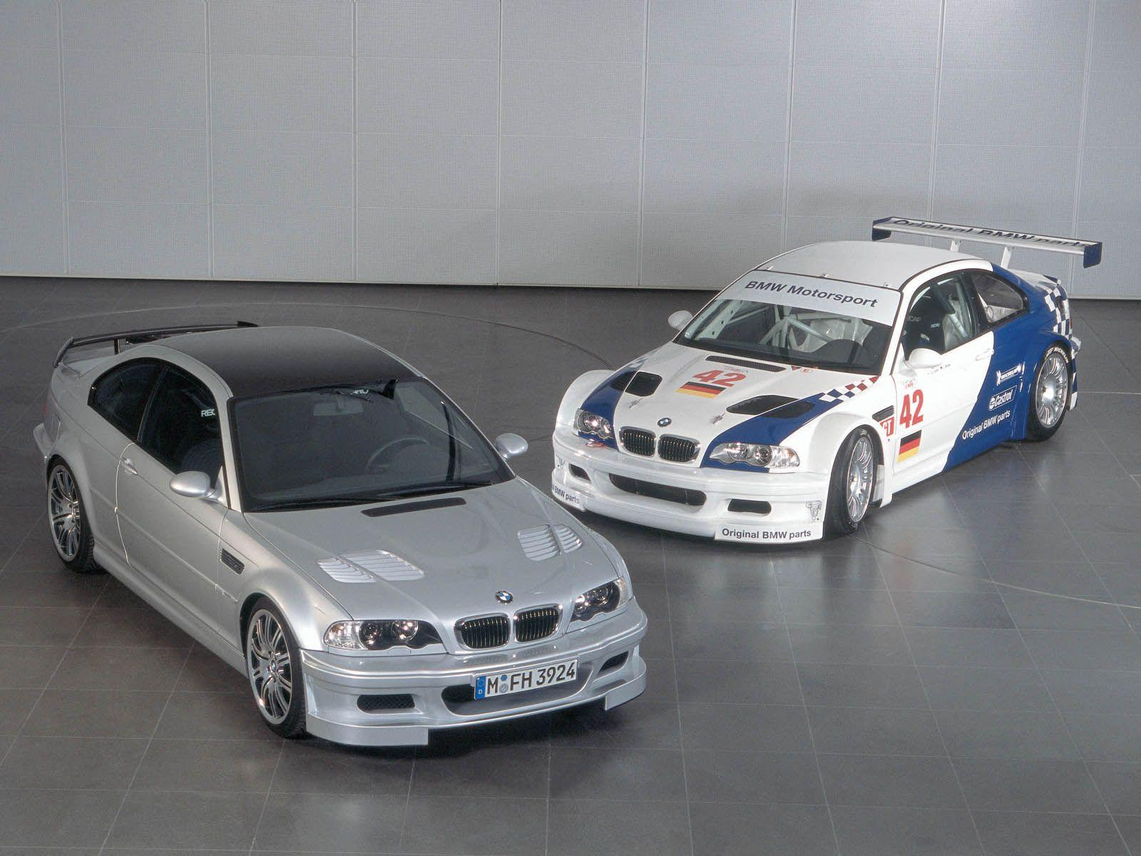 BMW Super Bild Of The Day: E46 M3 GTR
