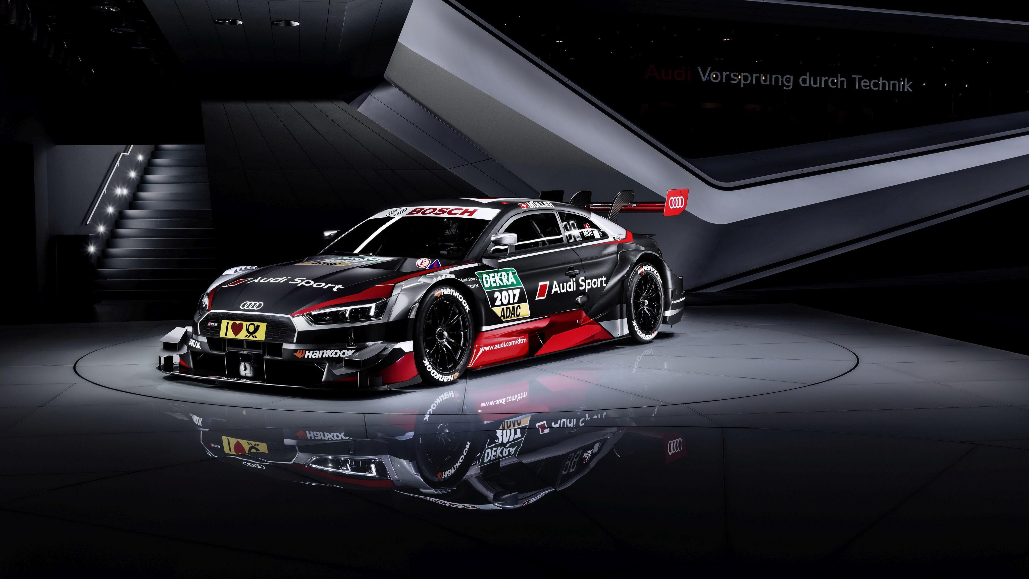 2018 Audi RS 5 Coupe DTM Wallpaper | HD Car Wallpapers