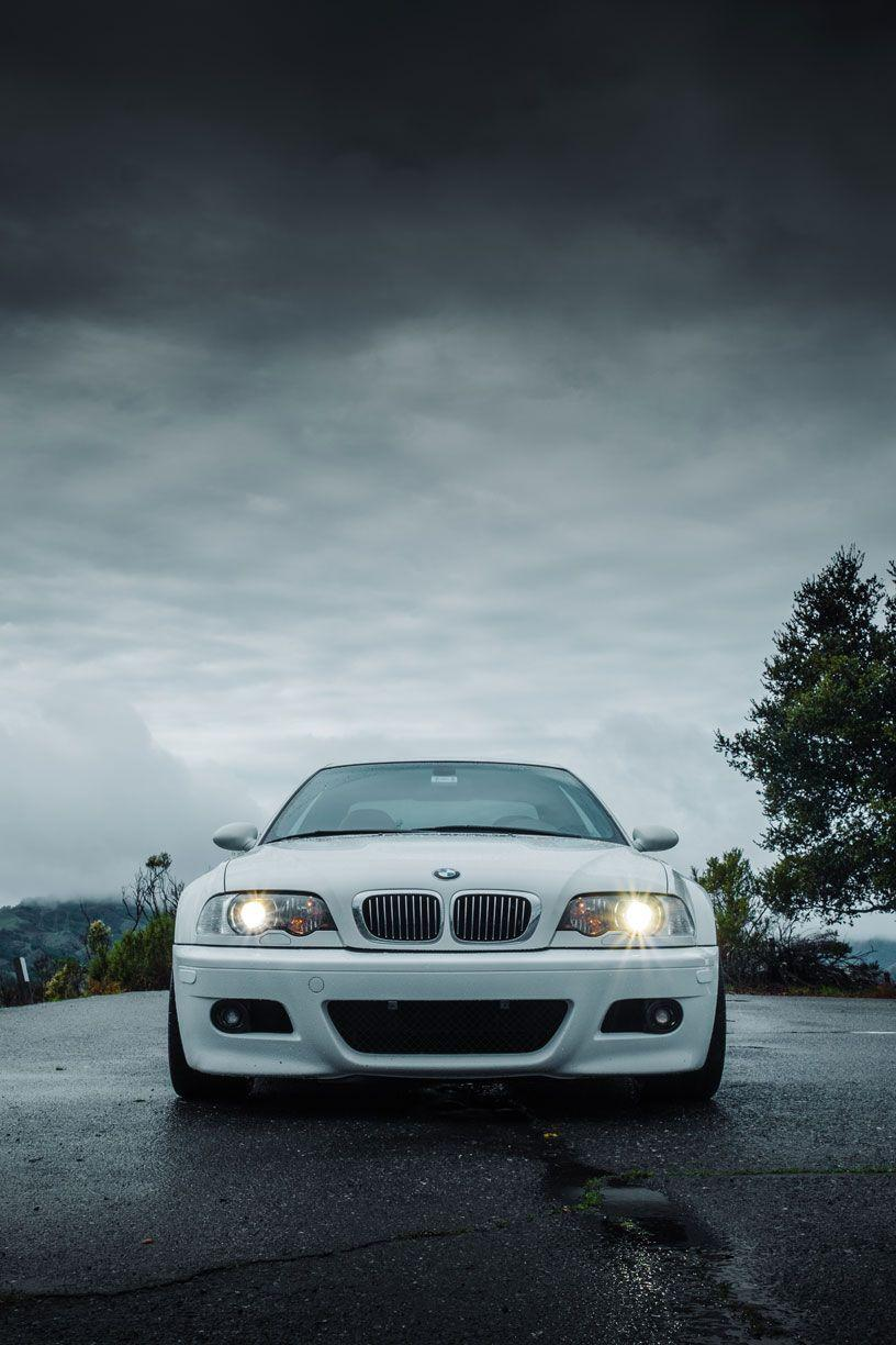 Wallpapers Bmw M3 E46 Angel Eyes Bmw White Lights Lights