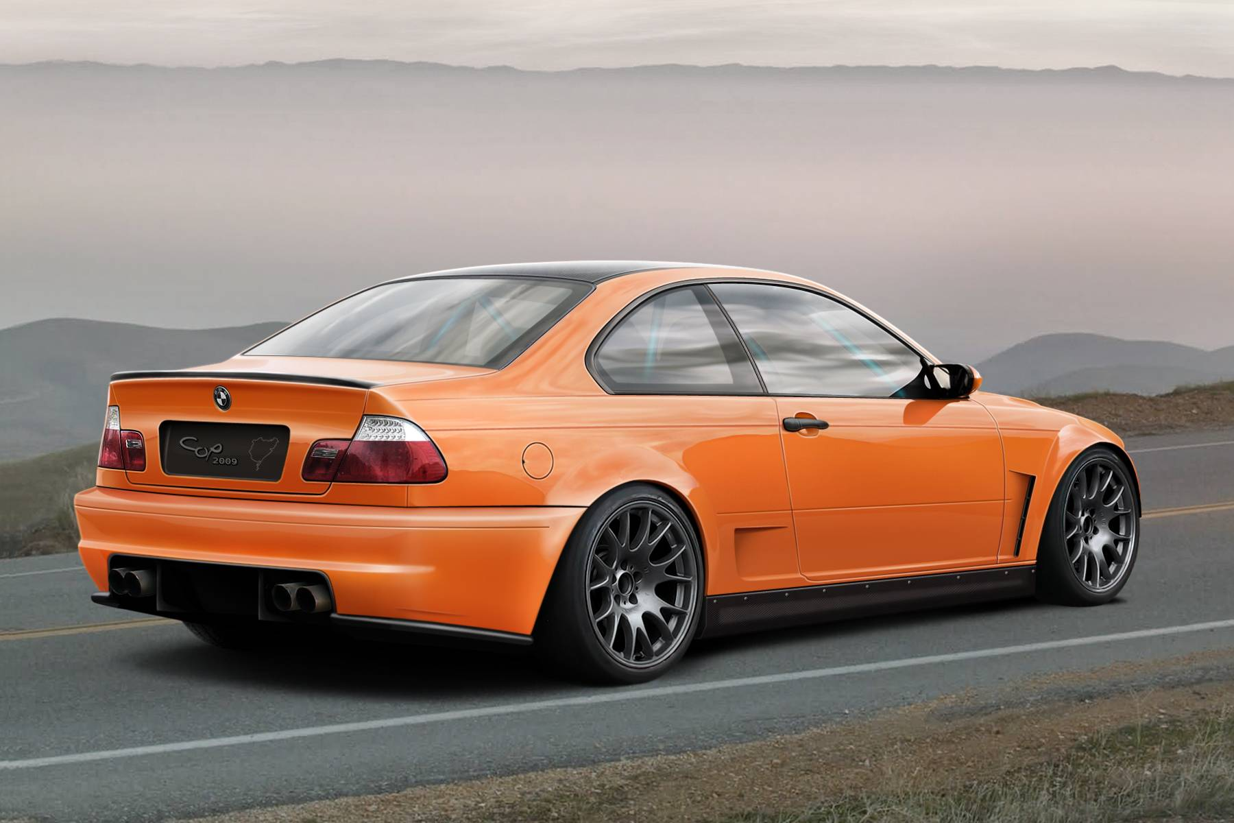 HD Bmw E46 M3 Wallpapers 131 Hd ~ Bmw E46 Black, 4 Door, Body Kit