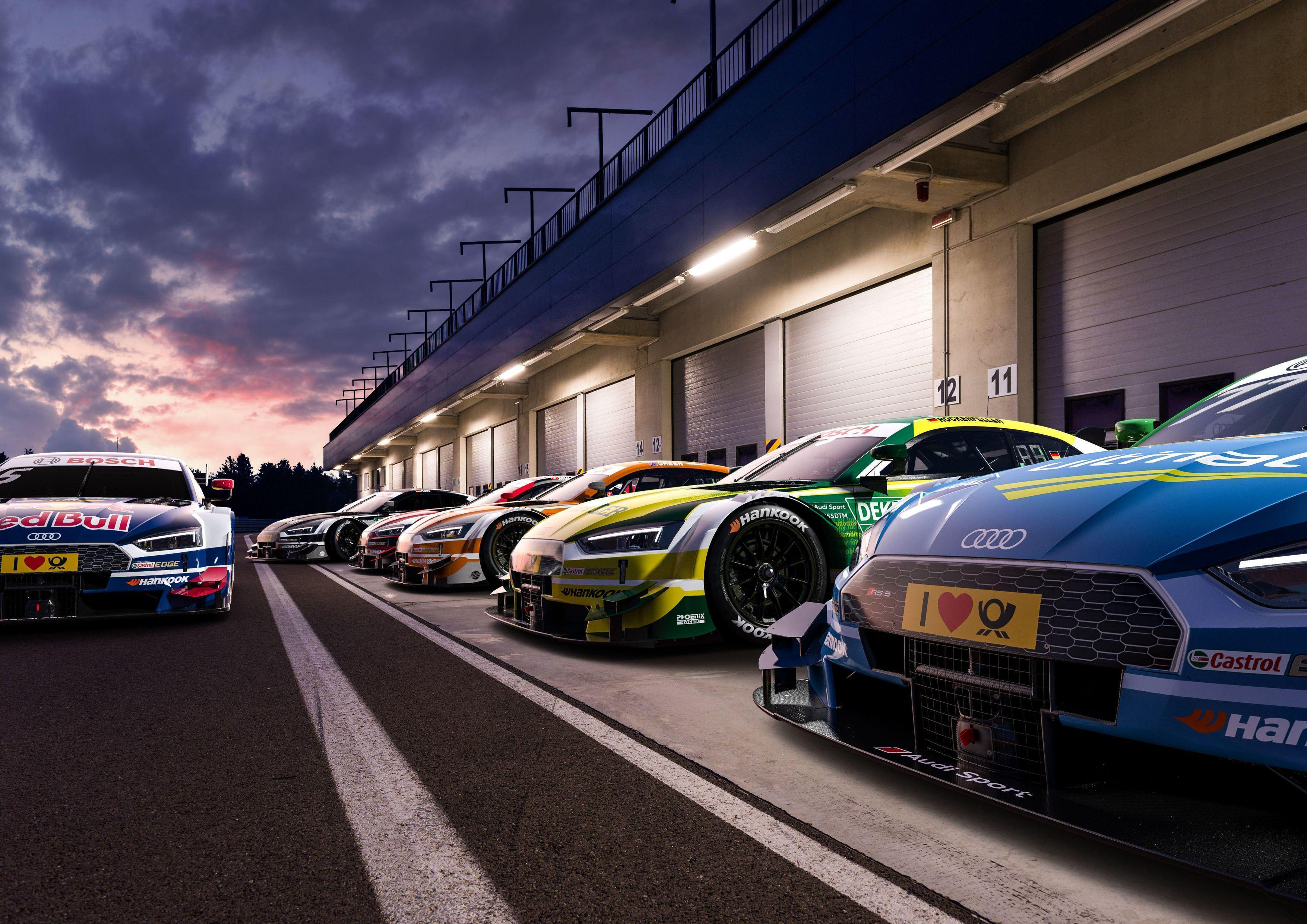 Your stunning Audi RS5 DTM Wallpaper is here