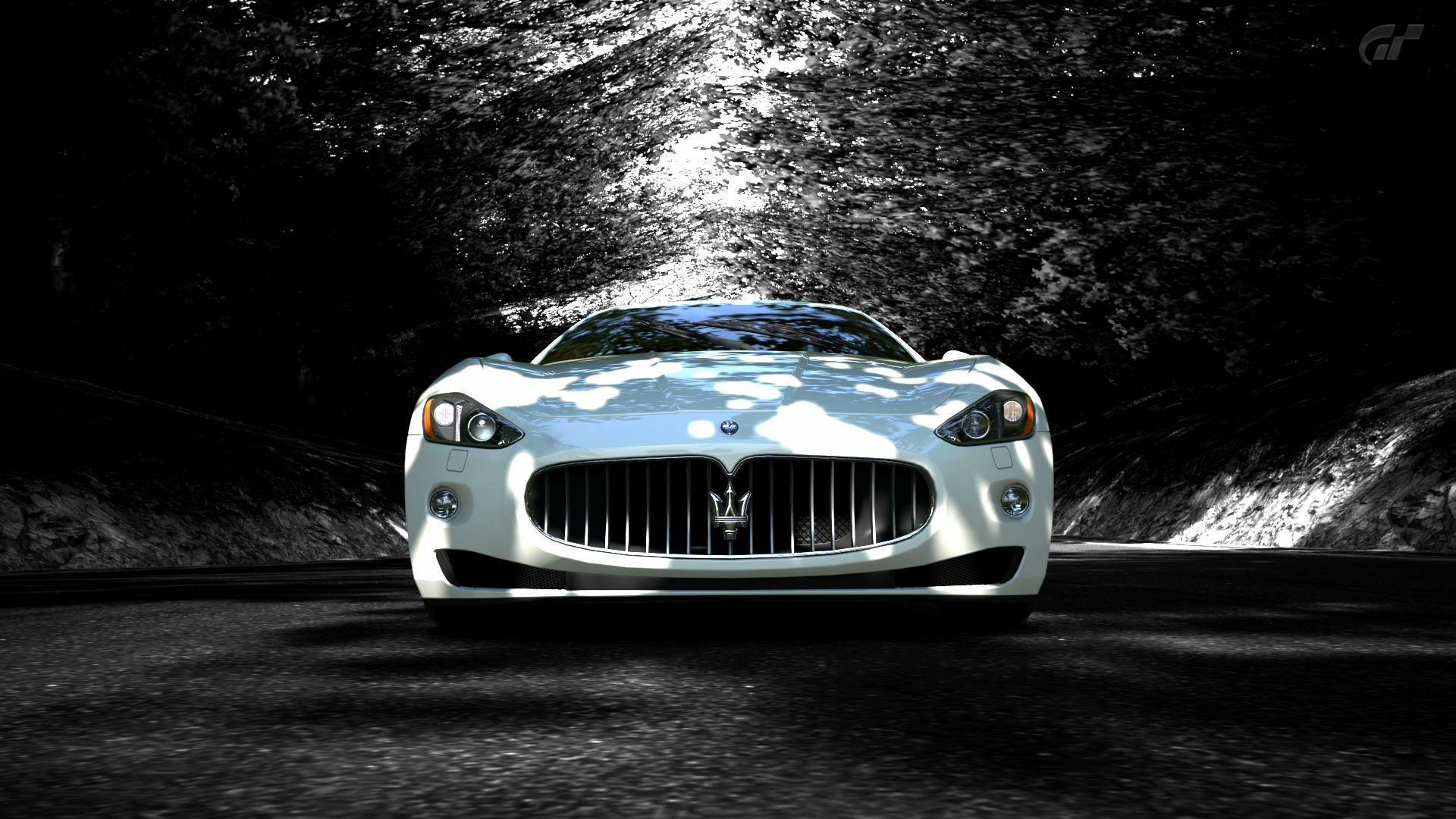 White-Maserati-Granturismo-HD-Wallpaper.jpg (1920×1080 ...