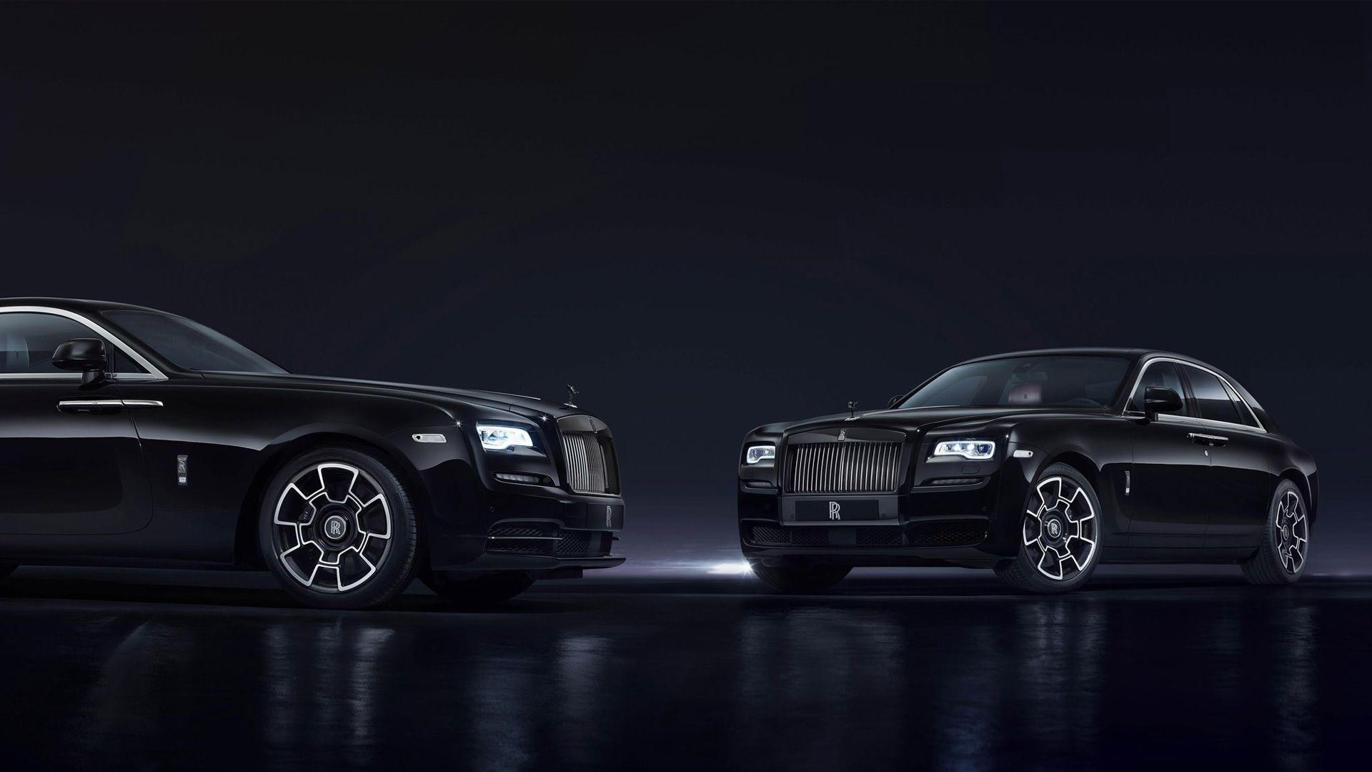 Rolls Royce Ghost Wraith Black Badge 2016 Wallpapers