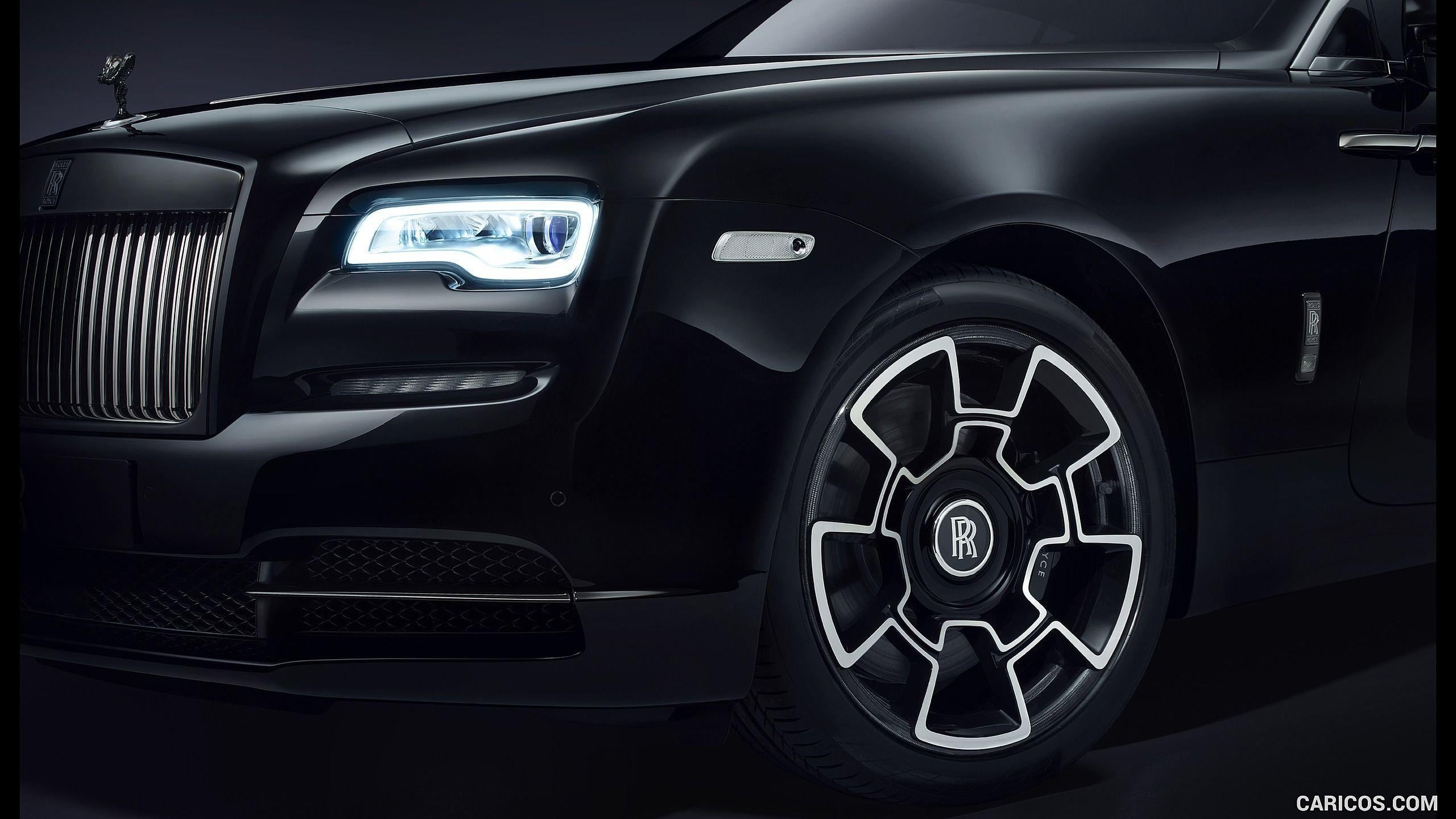 2016 Rolls-Royce Wraith and Ghost Black Badge Wallpaper ...