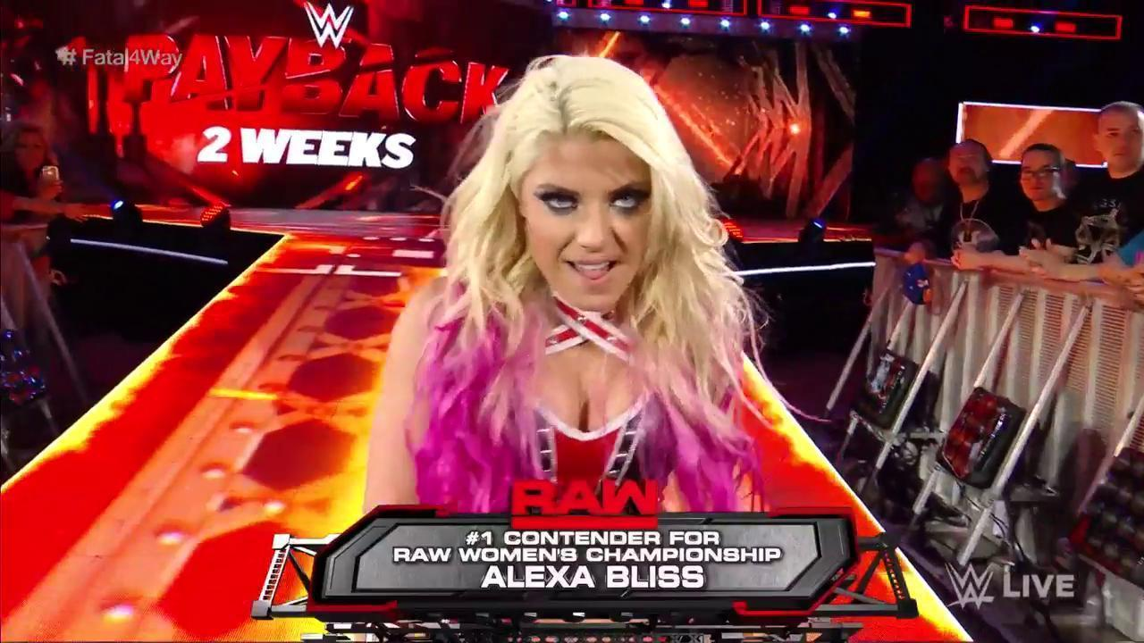 Alexa Bliss Becomes No. 1 Contender For Raw Women's Title