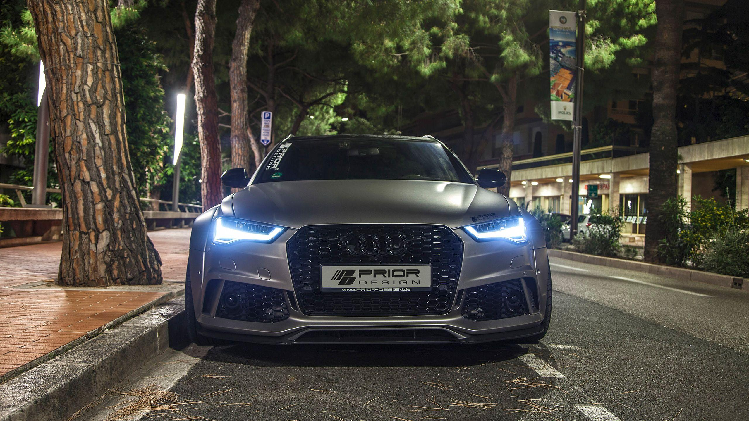 2016 Prior Design Audi A6 RS6 Avant Wallpapers