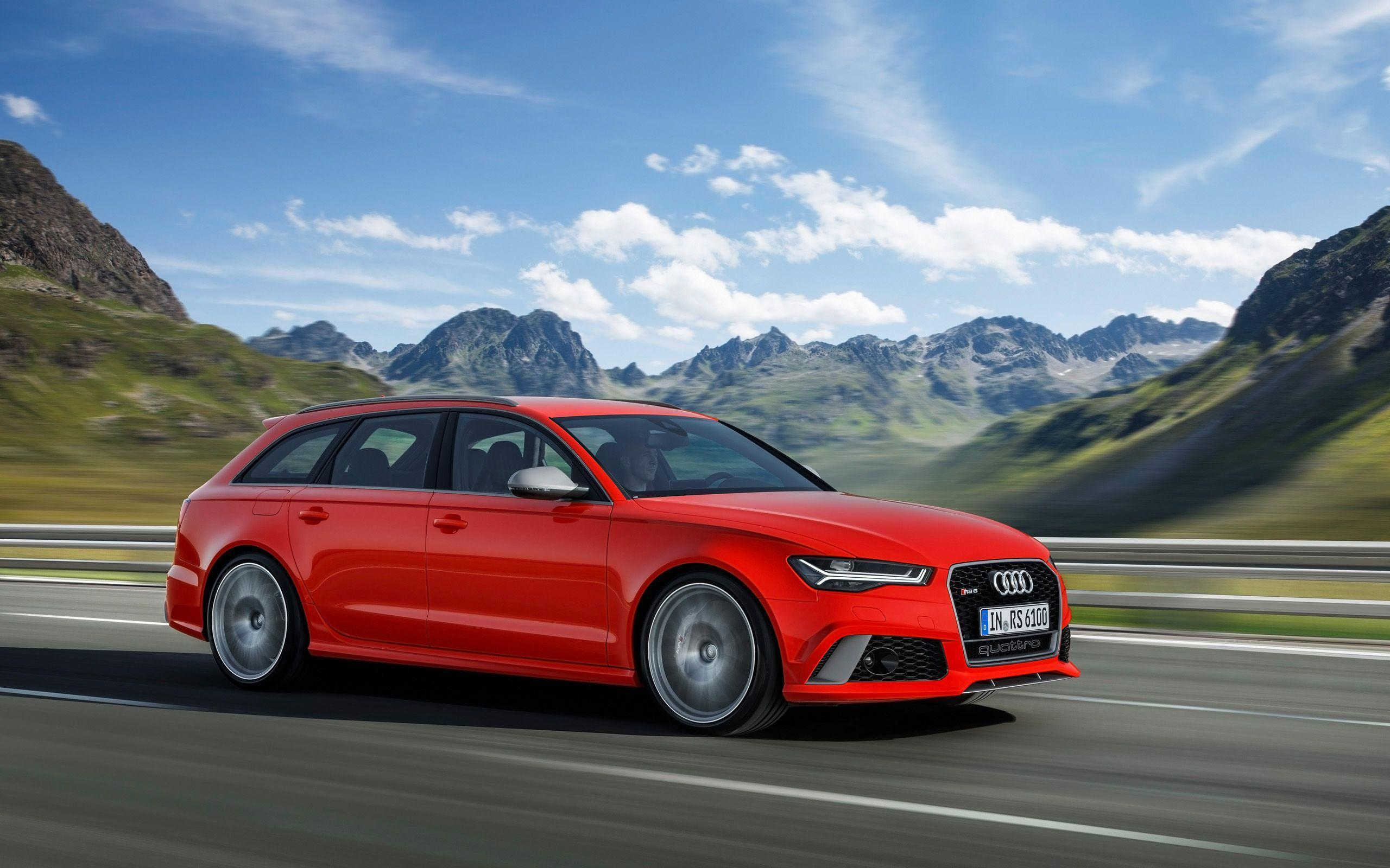 2016 Audi RS6 Avant Performance Wallpapers