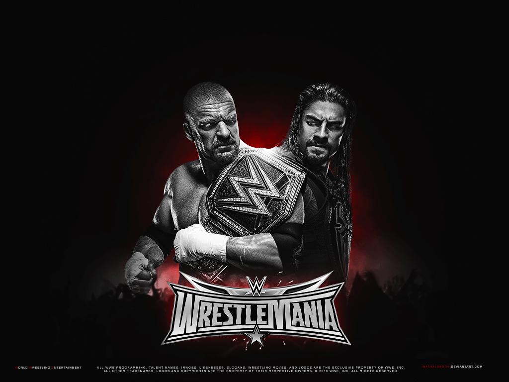 WWE Wrestlemania Wallpapers