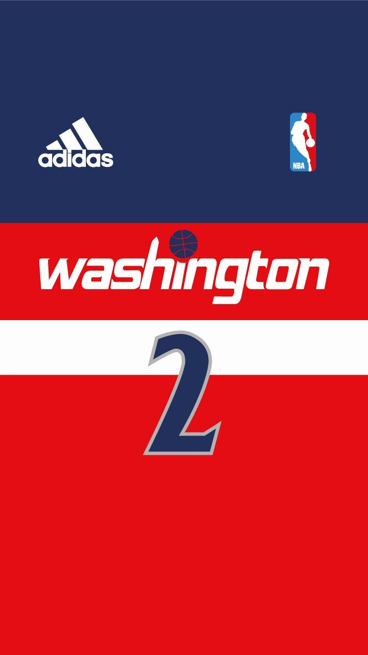 WIZARDS | NBA Jersey Project iPhone 6 | Pinterest | Wizards