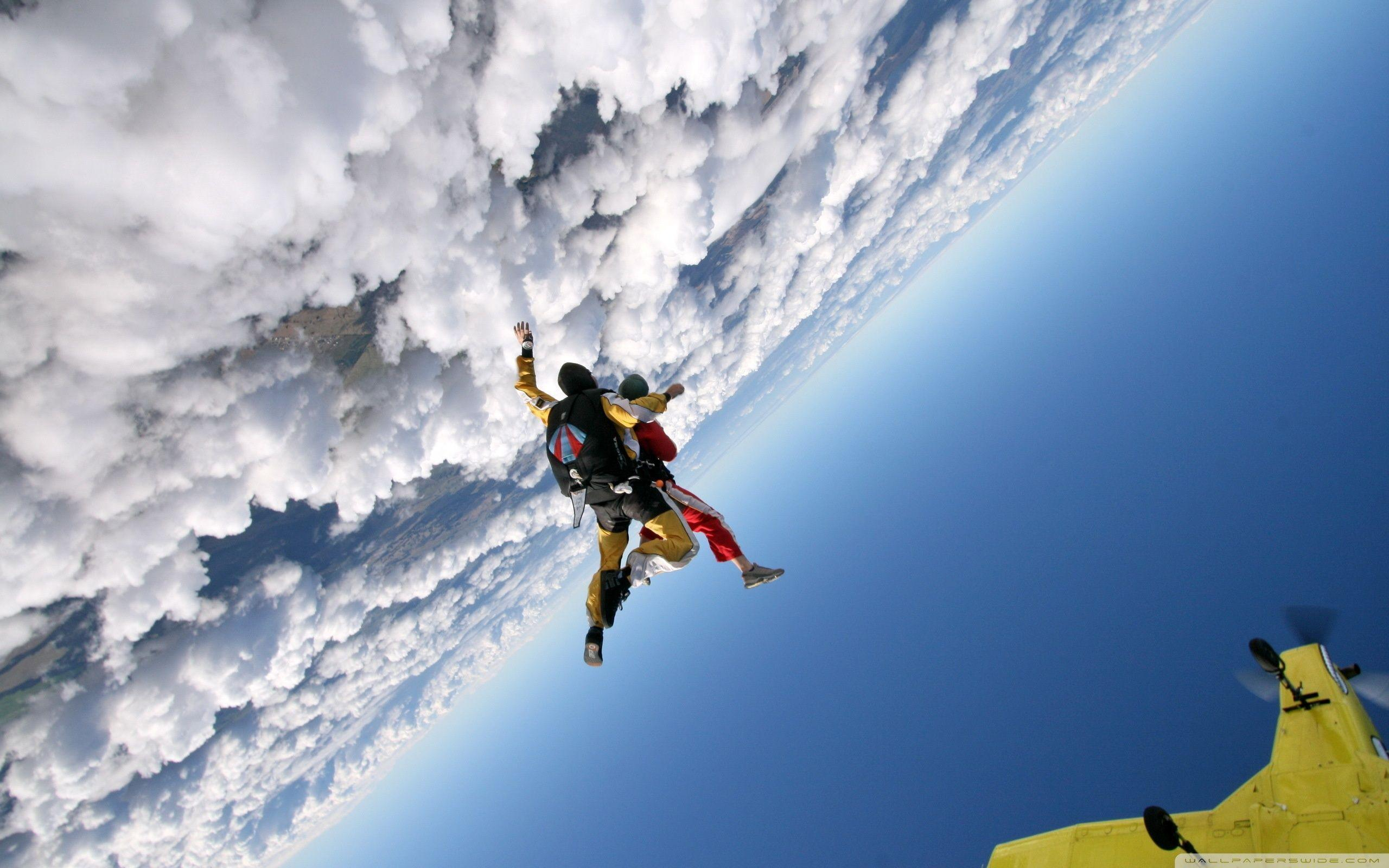 Skydiving ❤ 4K HD Desktop Wallpapers for 4K Ultra HD TV • Tablet