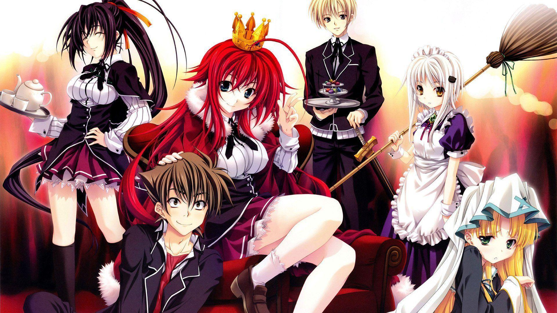 71 High School DxD HD Wallpapers