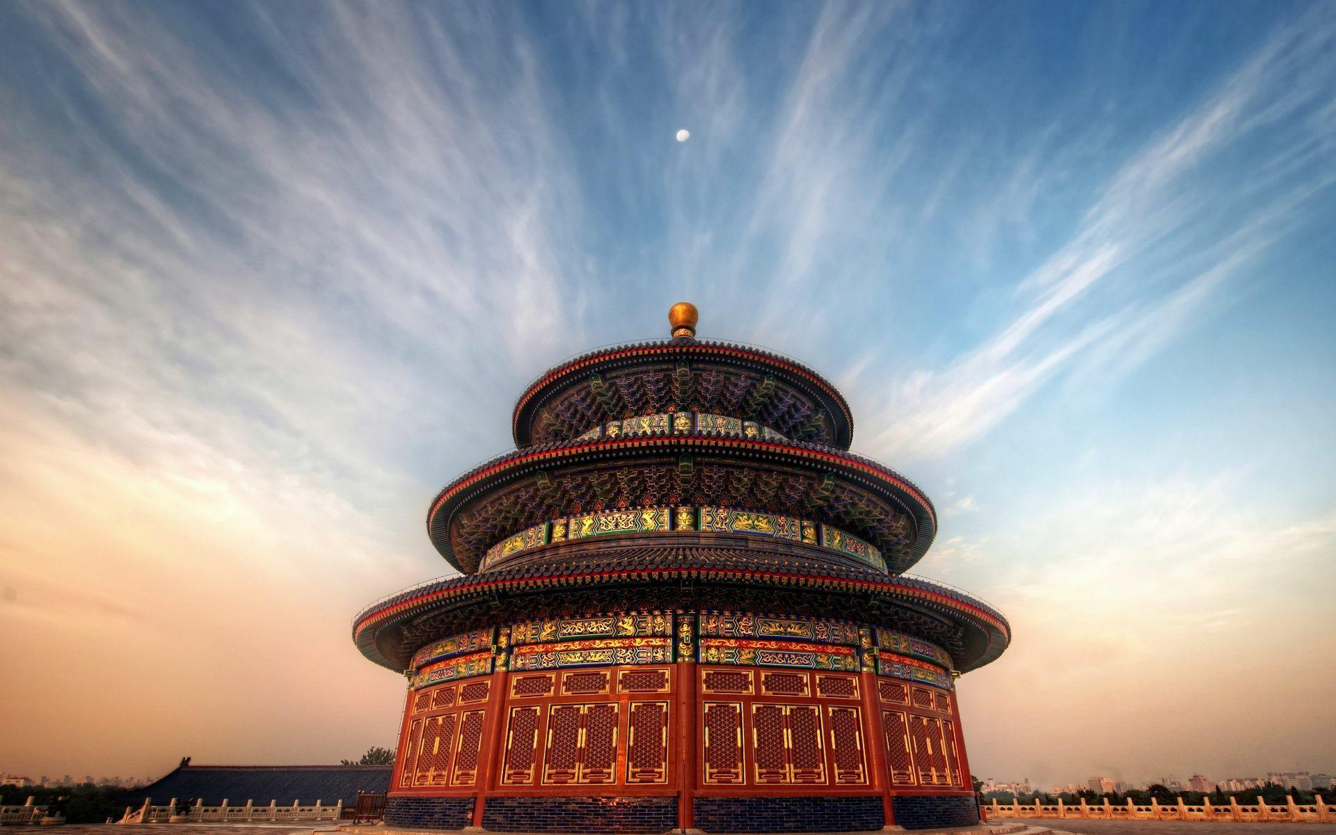 Temple Of Heaven Beijing China Wallpapers HD Free Download