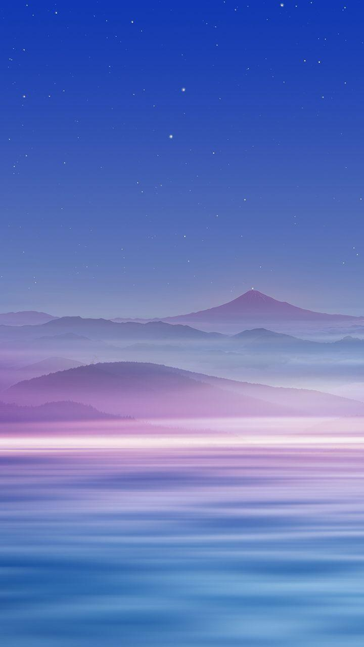 Free Wallpaper Phone Cloud Mountain Wallpapers Samsung Galaxy J7