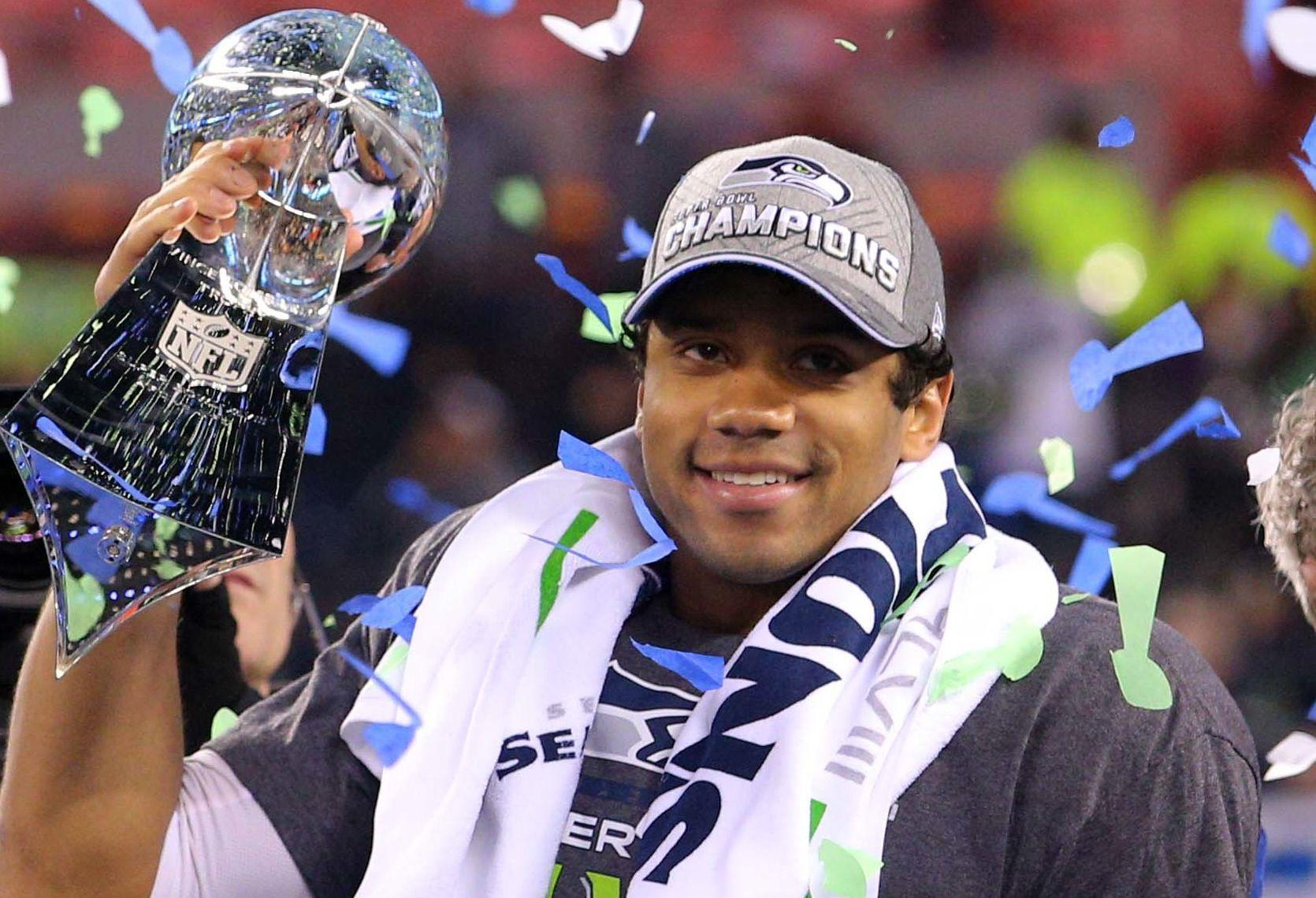 Awesome Russell Wilson HD Wallpaper Free Download