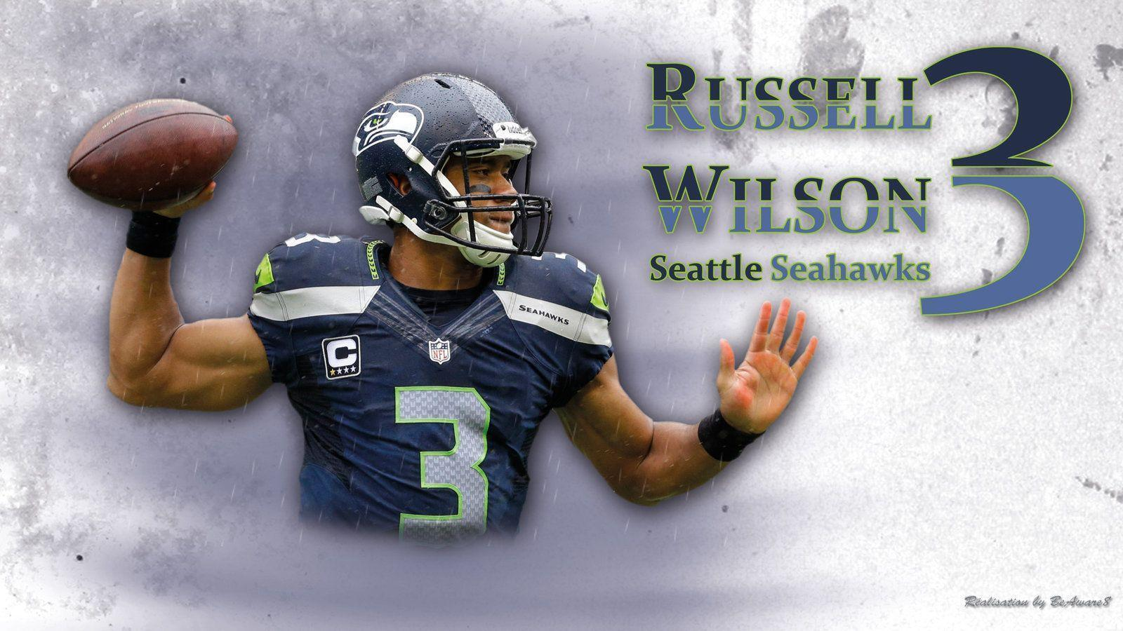 Russell Wilson by BeAware8 on DeviantArt