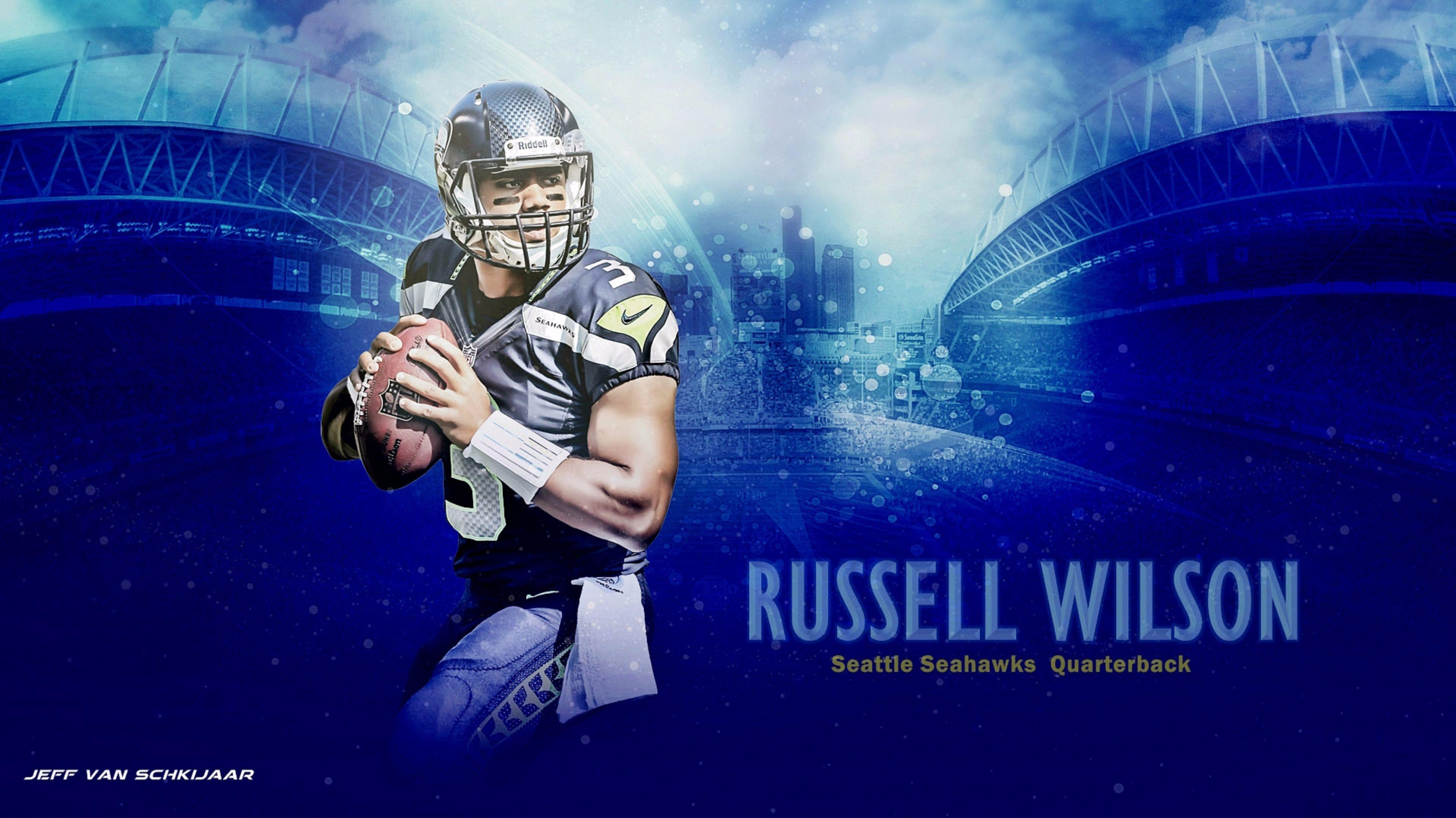 2016 4K Russell Wilson Wallpapers