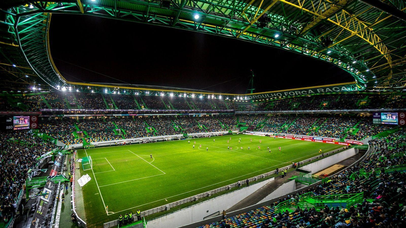 Estadio Jose Alvalade Wonderful Atmosphere Sporting CP Portugal HD
