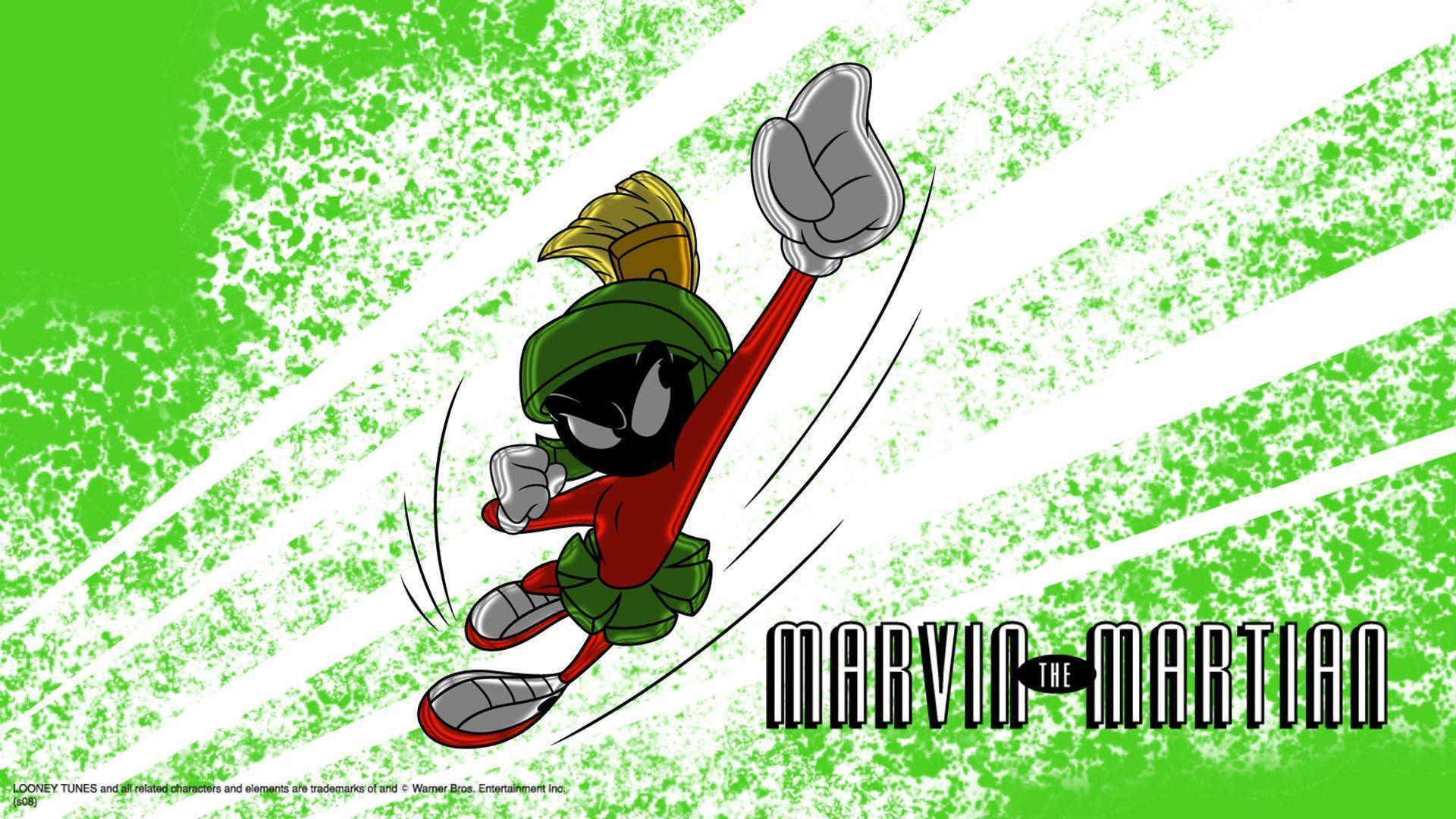 MARVIN THE MARTIAN: A SPACEY WALLPAPER