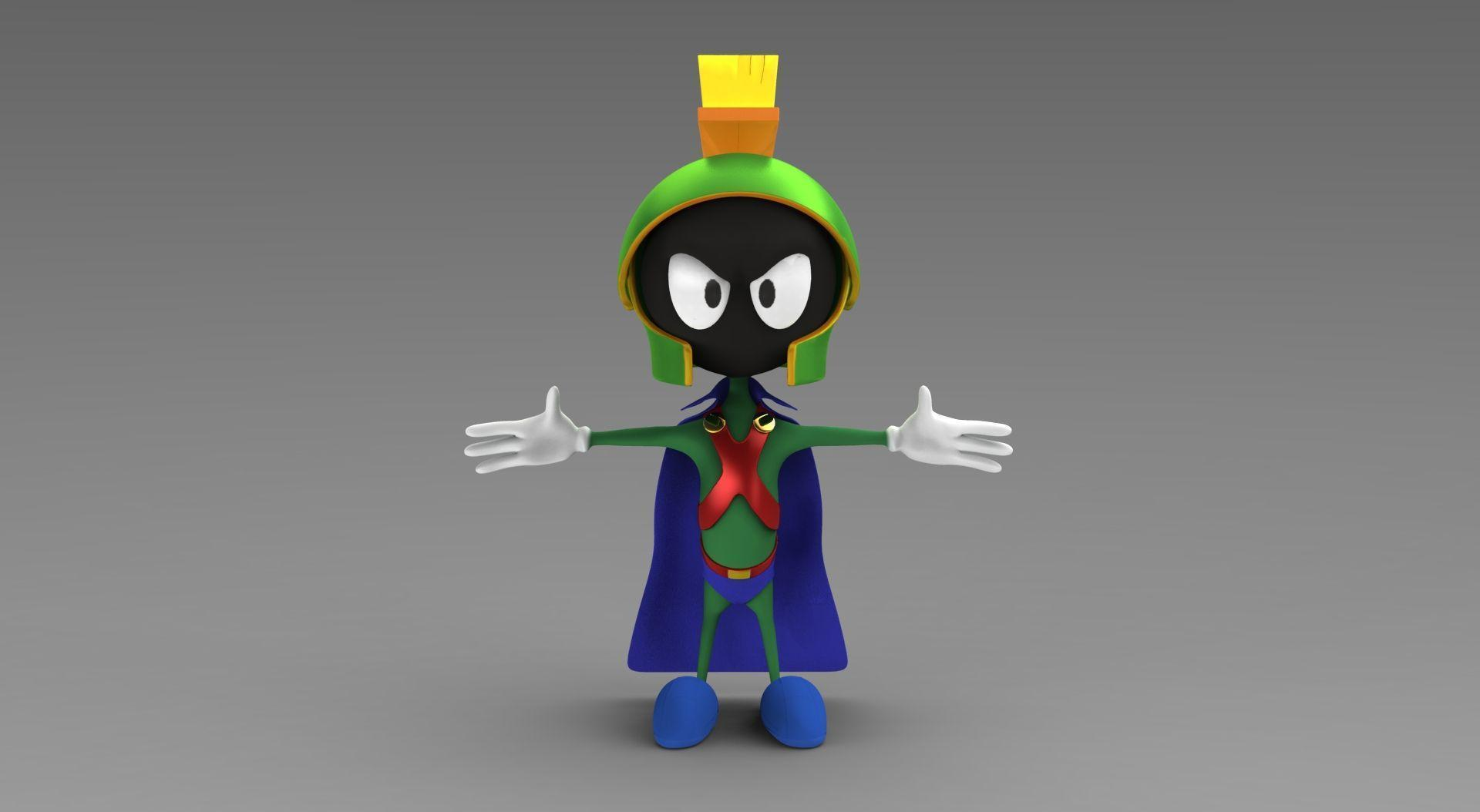 MARVIN THE MARTIAN looney tunes d wallpapers
