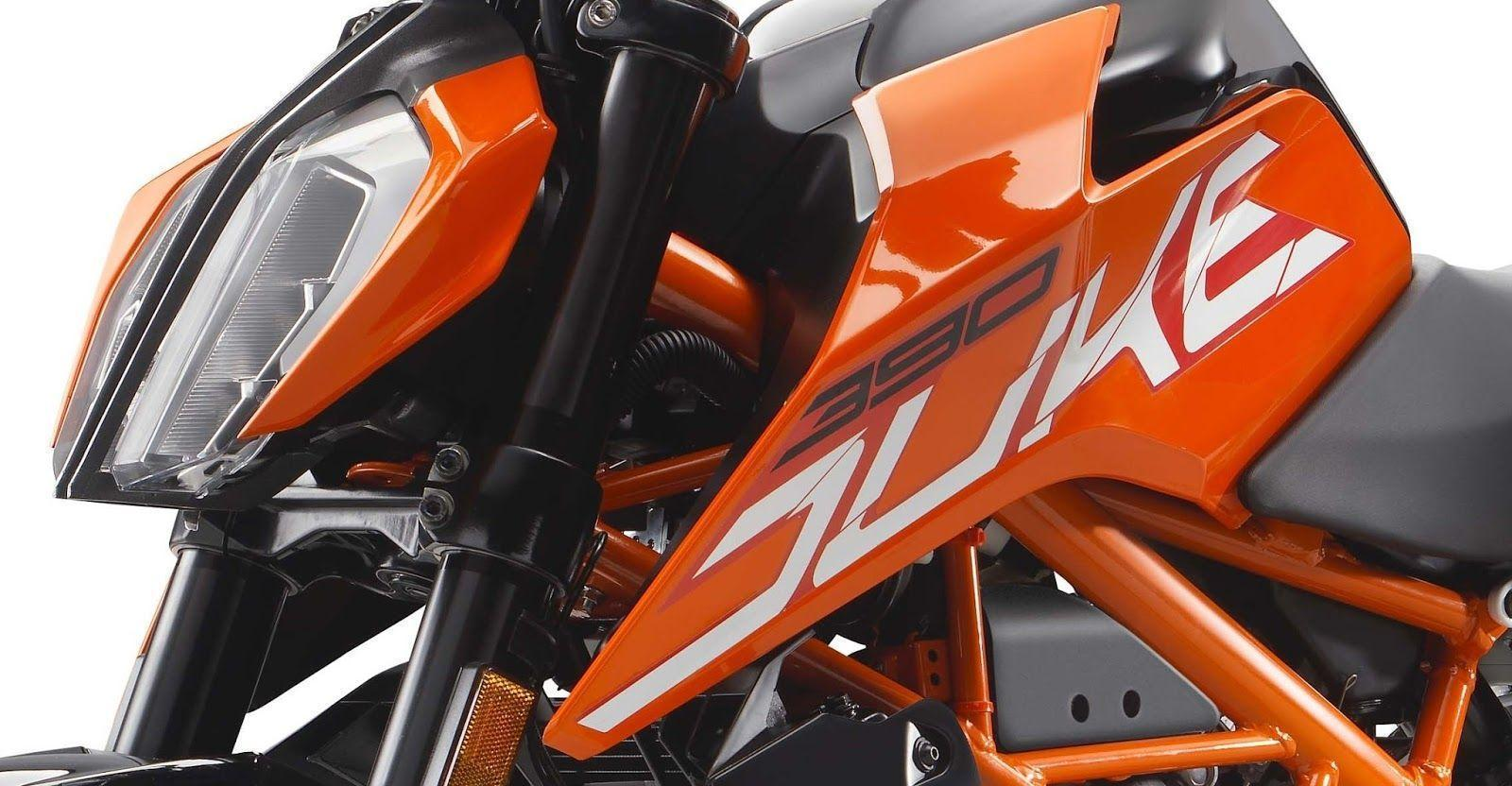 All New 2017 KTM Duke 390 HD Image