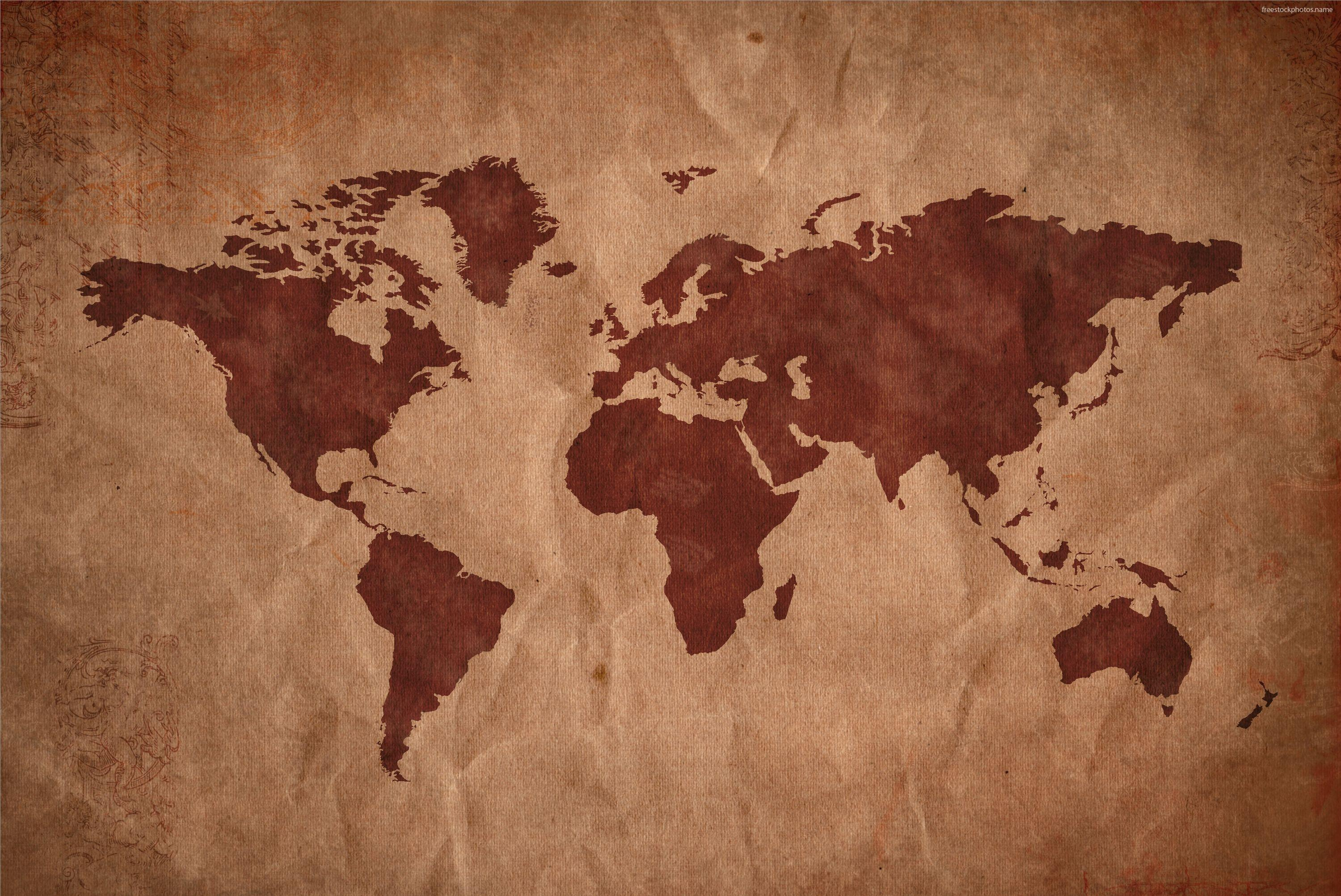 Asia Map Wallpapers