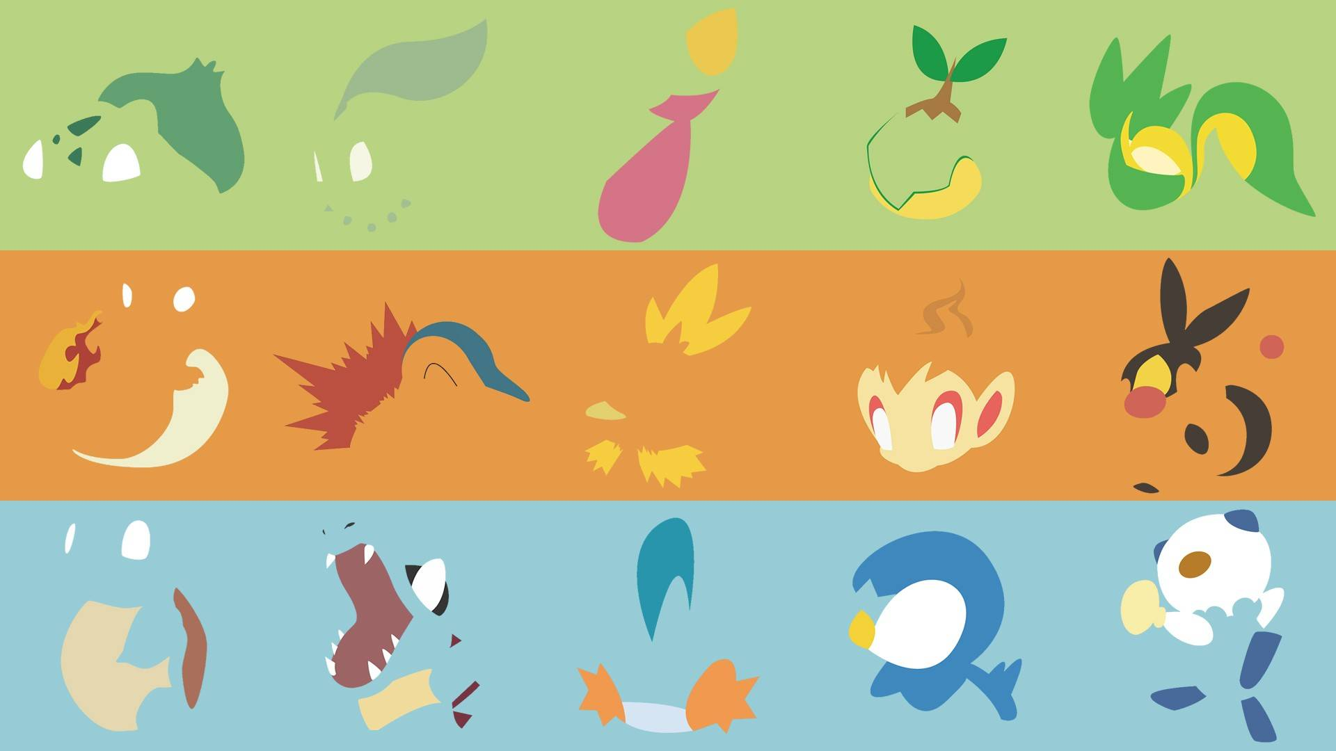 Starter Pokemon Wallpapers