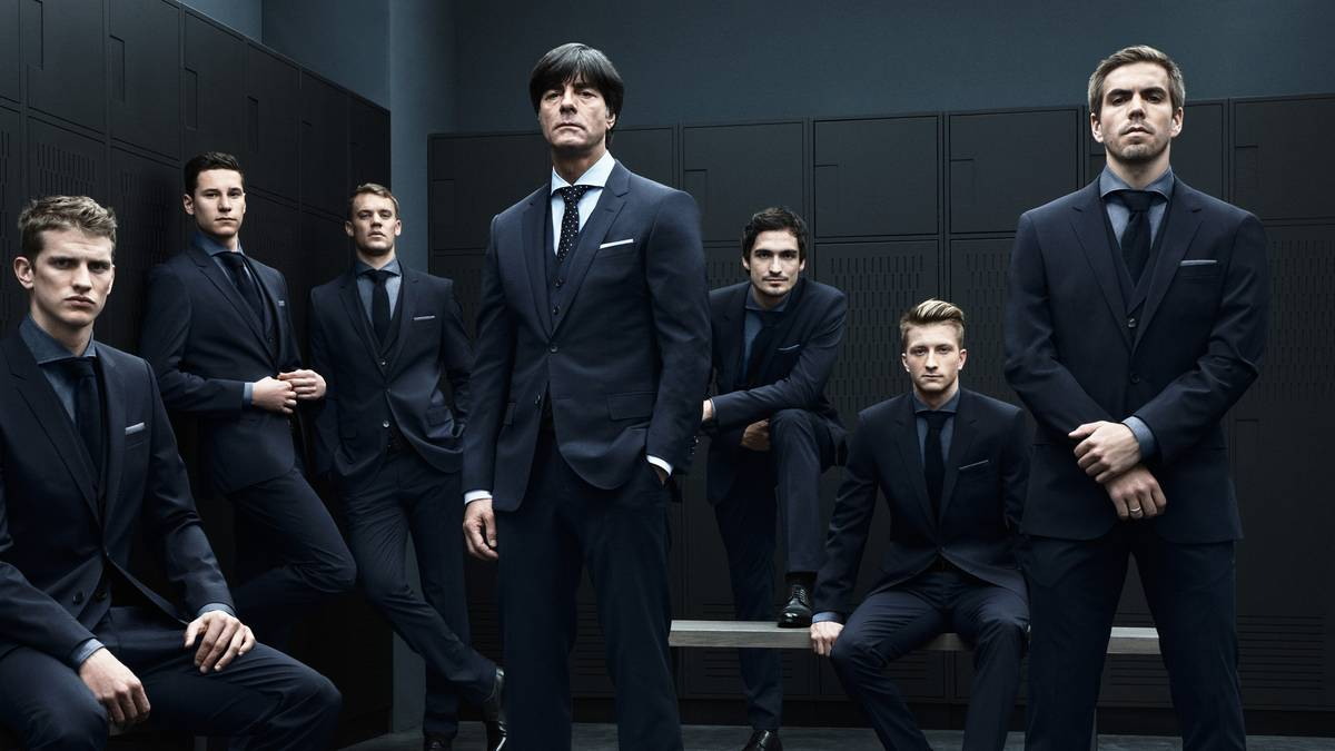 HUGO BOSS Outfits the German Football Team for World Cup 2014