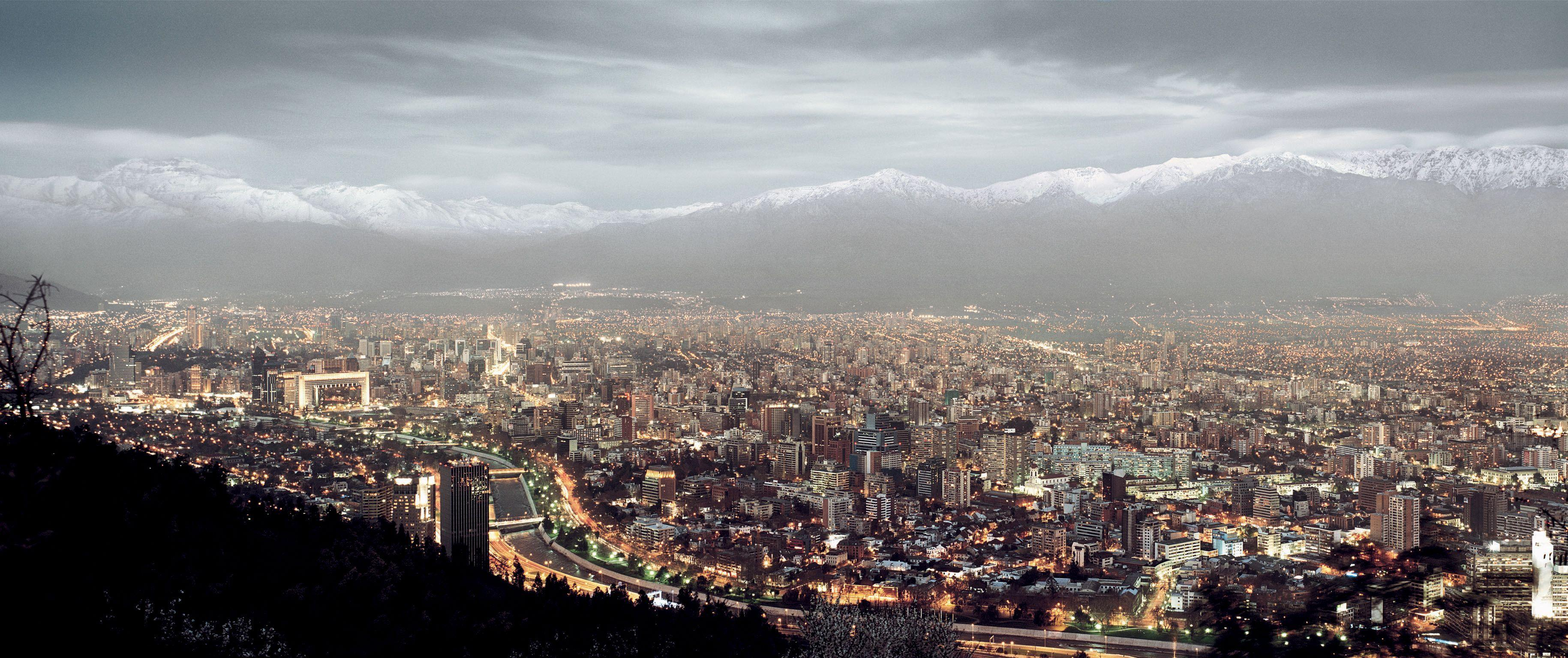 santiago chile high resolution #545255