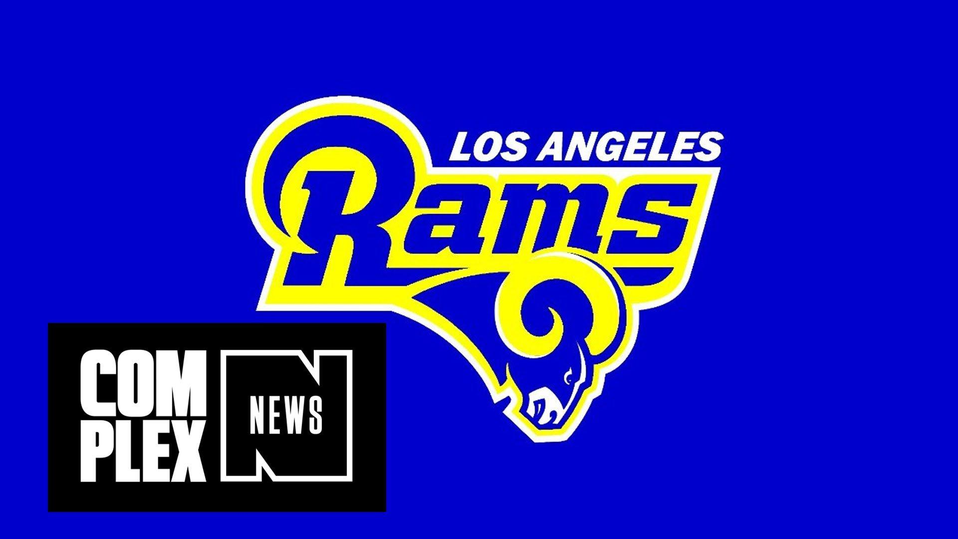 Pour One Out for My St. Louis Rams: Team to Relocate to Los